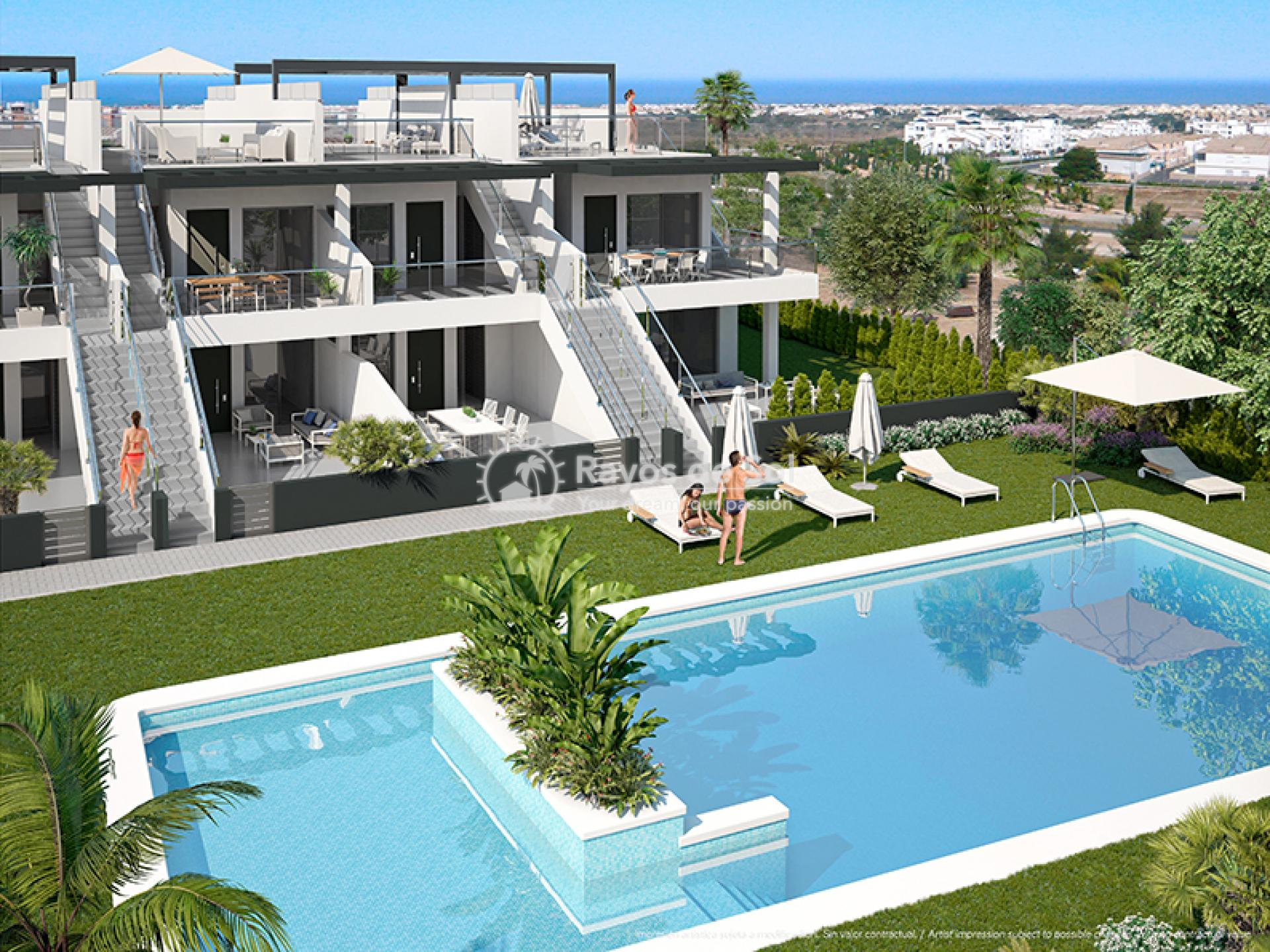 Modern penthouse  in Villamartin, Orihuela Costa, Costa Blanca (VIRPC3-2P) - 1