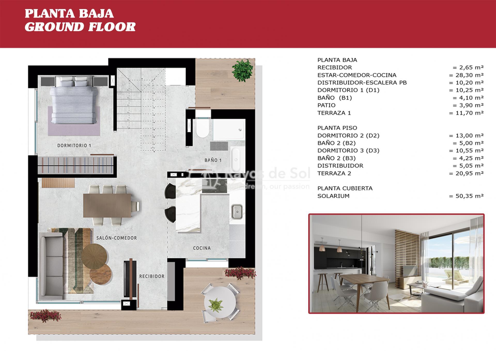 Detached villa  in Orihuela Costa, Costa Blanca (OCSUCFV) - 37