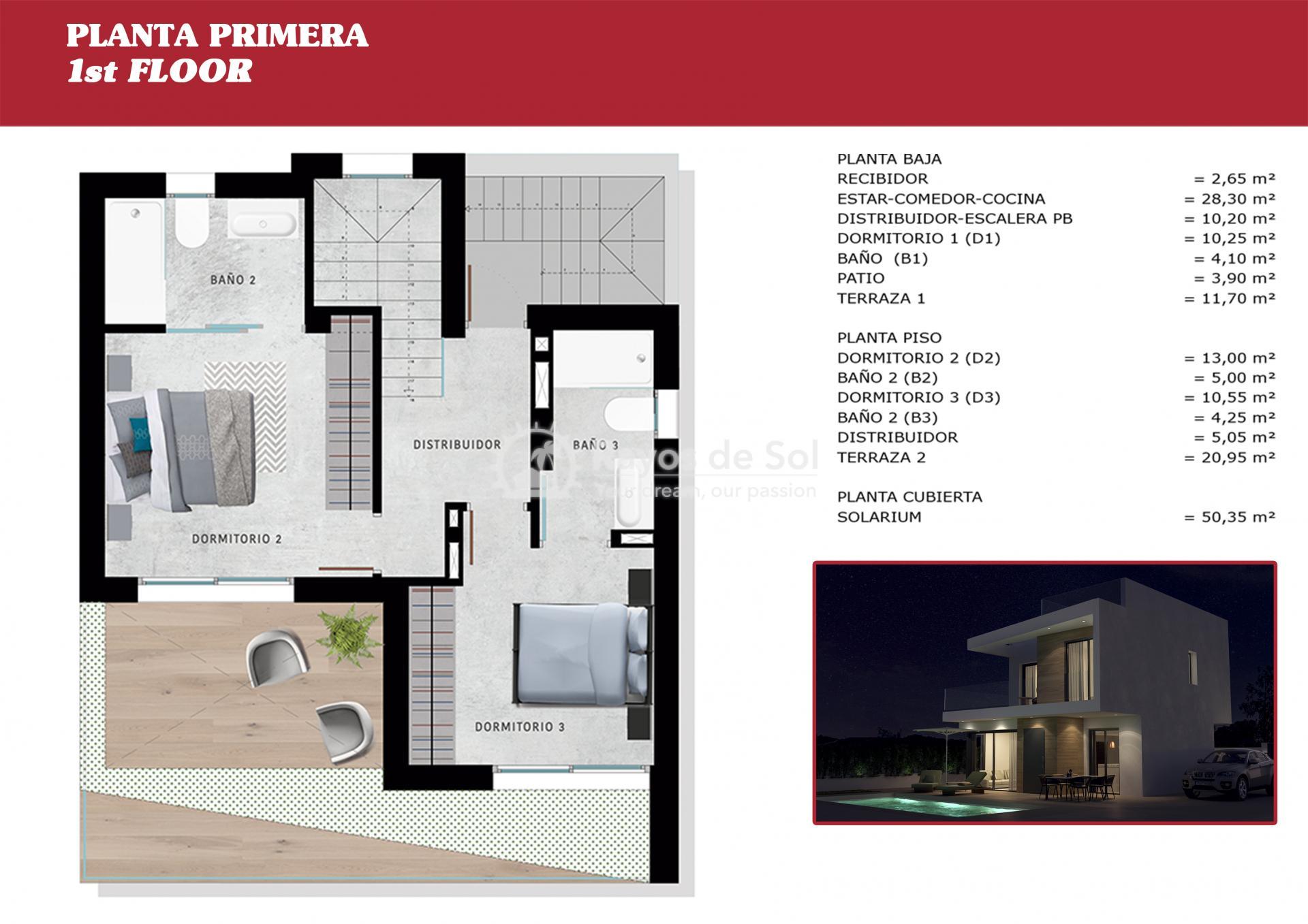 Detached villa  in Orihuela Costa, Costa Blanca (OCSUCFV) - 38