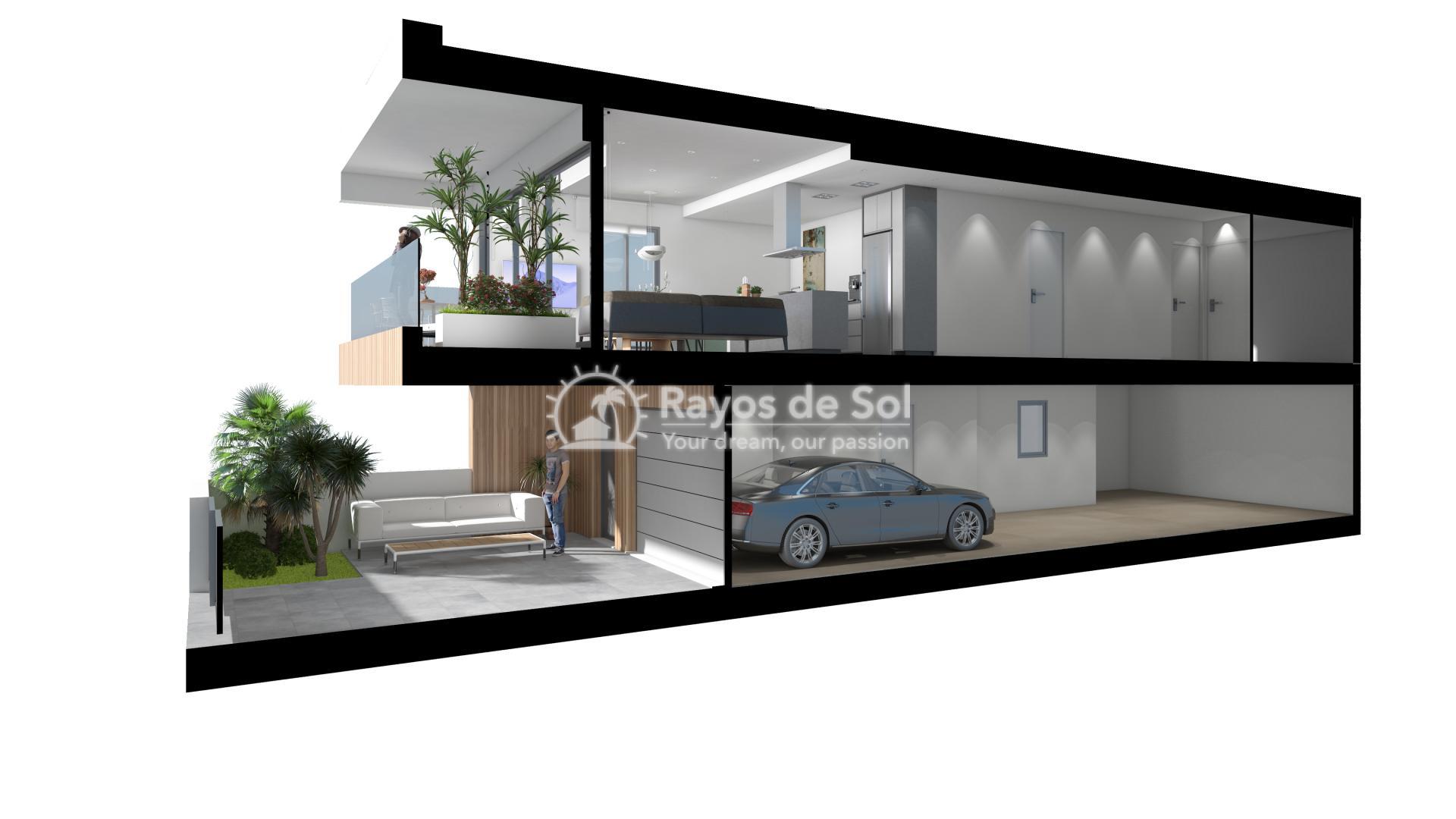 Terraced apartment  in Gran Alacant, Santa Pola, Costa Blanca (GASUSP2-2B) - 3