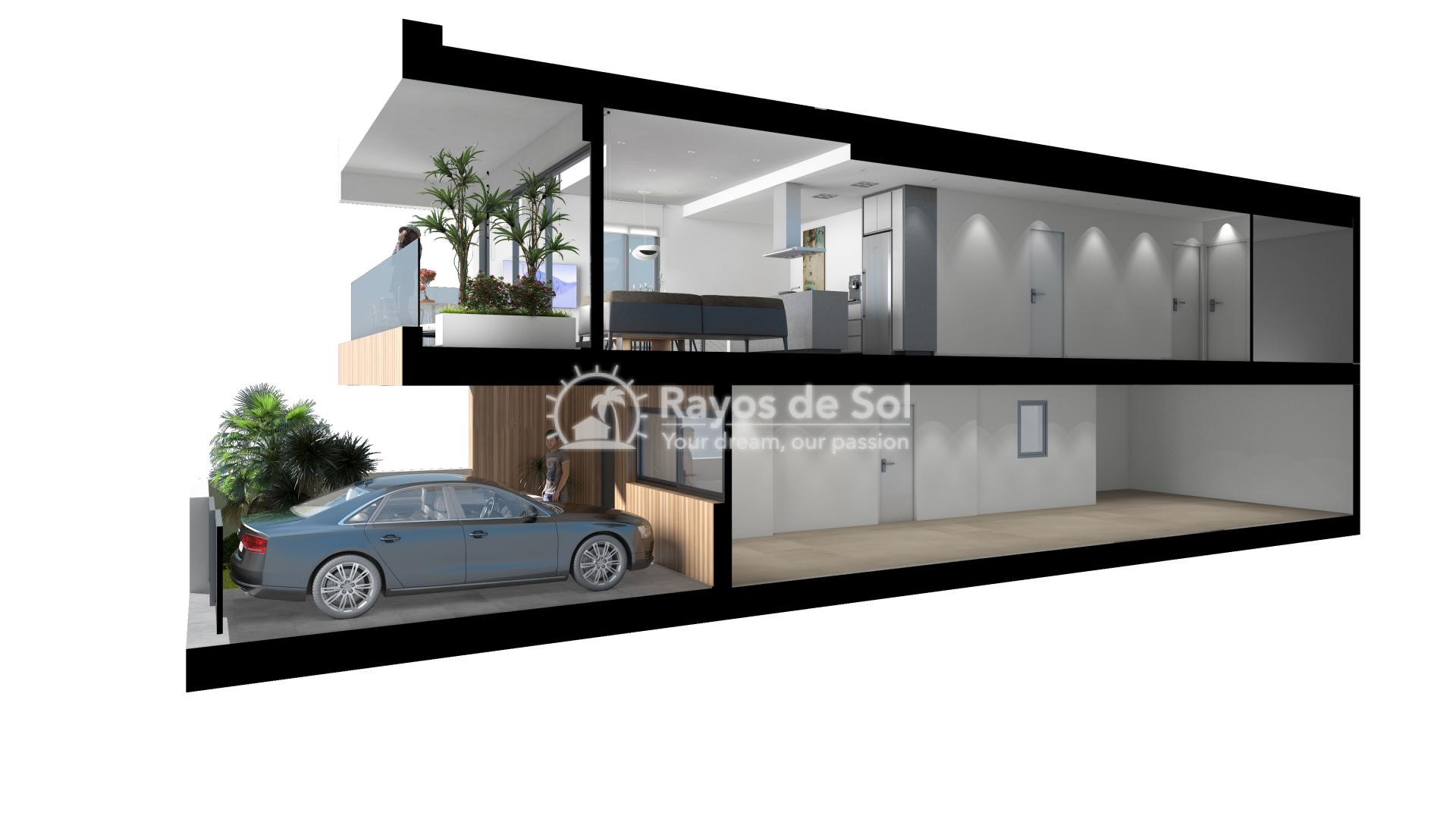Terraced apartment  in Gran Alacant, Santa Pola, Costa Blanca (GASUSP2-2B) - 4
