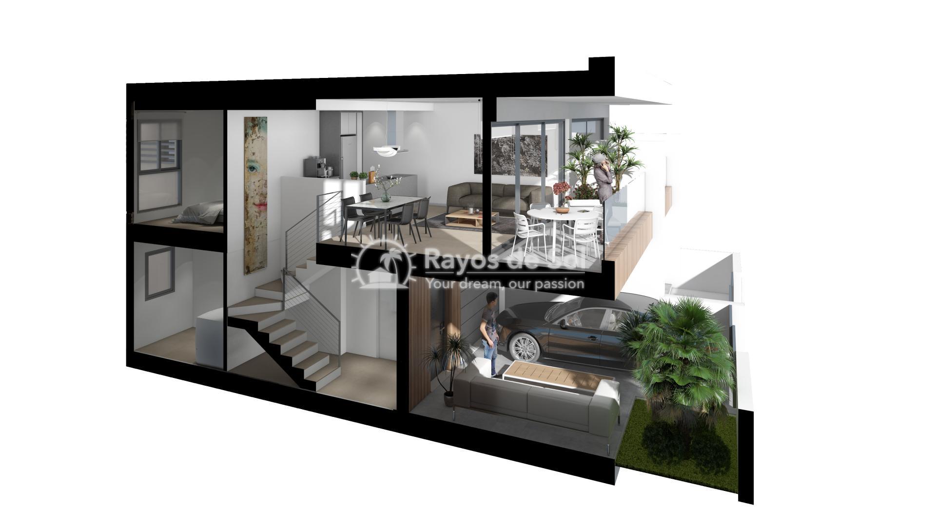 Terraced apartment  in Gran Alacant, Santa Pola, Costa Blanca (GASUSP2-2B) - 5