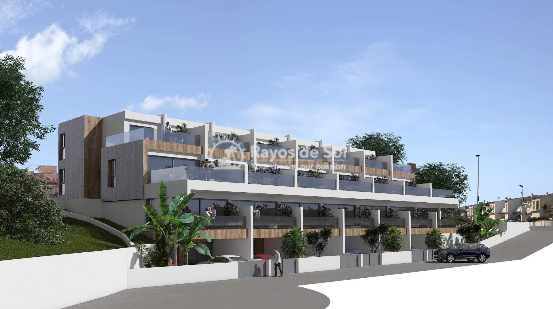 Terraced apartment  in Gran Alacant, Santa Pola, Costa Blanca (GASUSP2-2B) - 1