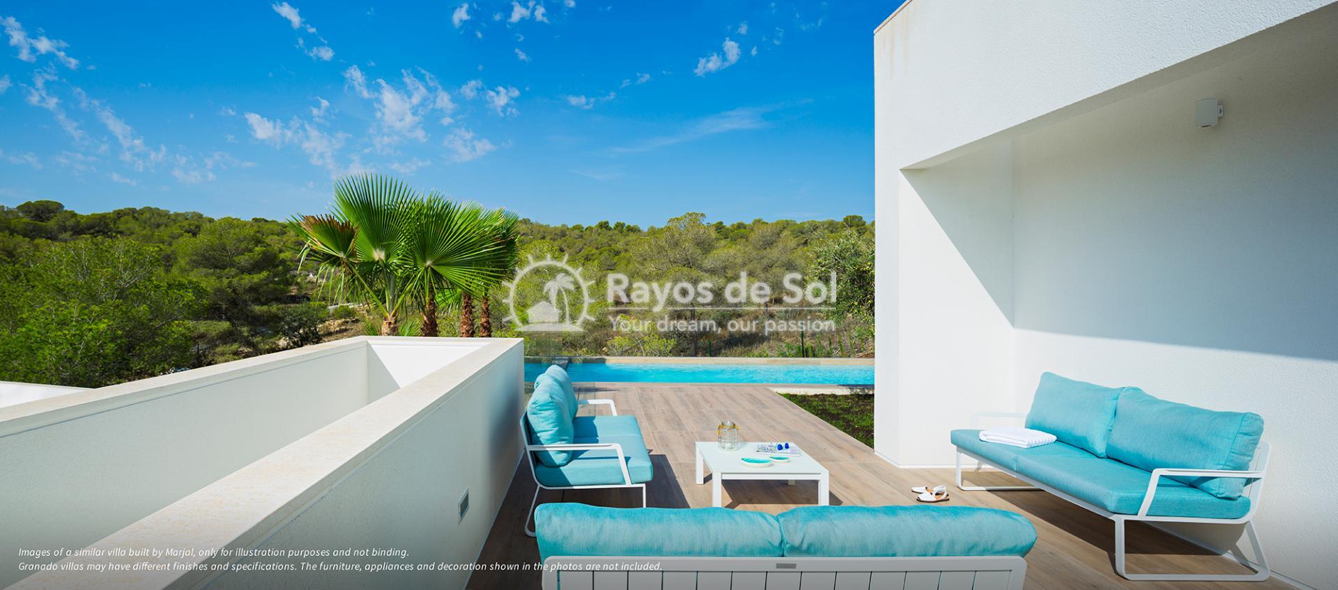 Stunning villa  in Las Colinas, Orihuela Costa, Costa Blanca (Granado-36A) - 5