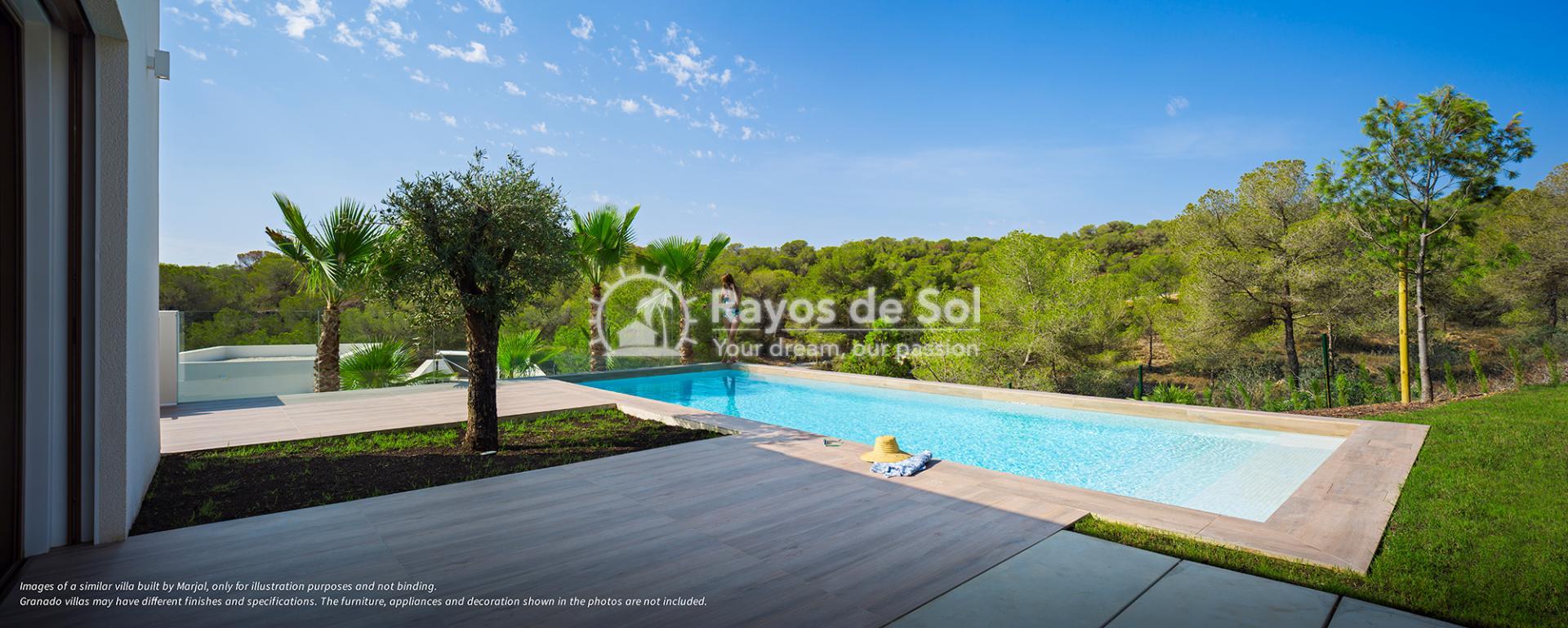 Stunning villa  in Las Colinas, Orihuela Costa, Costa Blanca (Granado-36A) - 6