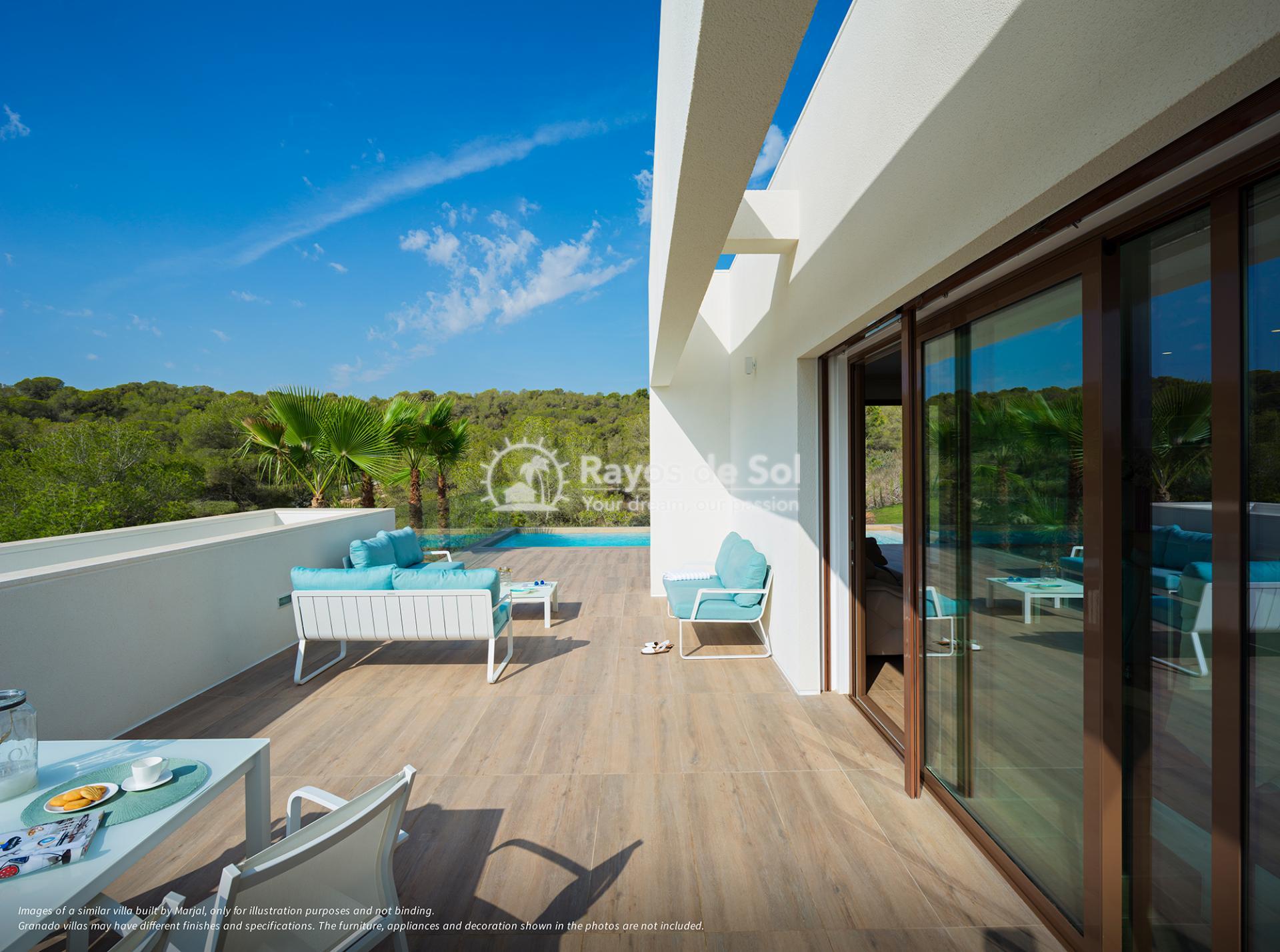 Stunning villa  in Las Colinas, Orihuela Costa, Costa Blanca (Granado-36A) - 1