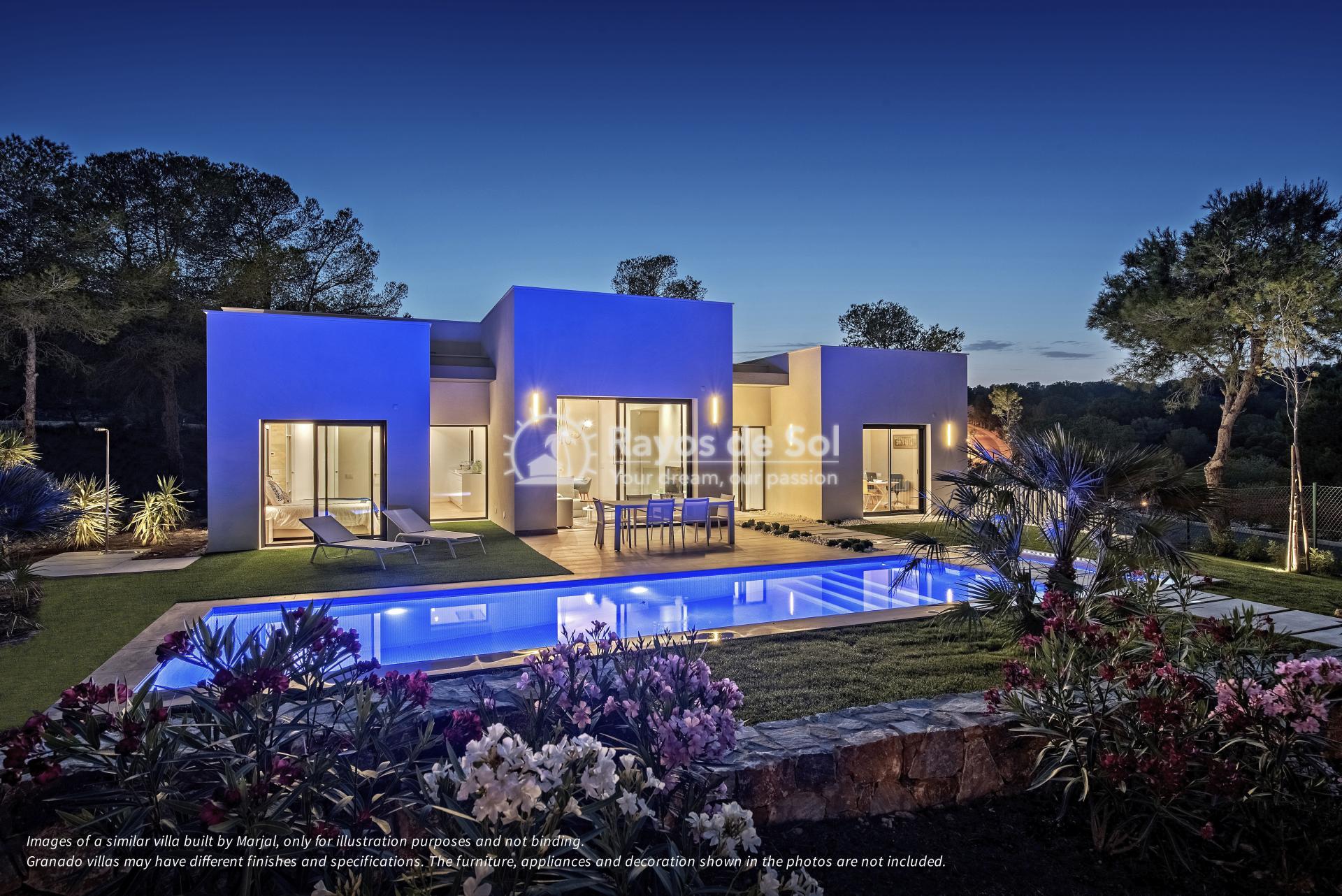 Villa  in Las Colinas, Orihuela Costa, Costa Blanca (Granado-36B) - 10