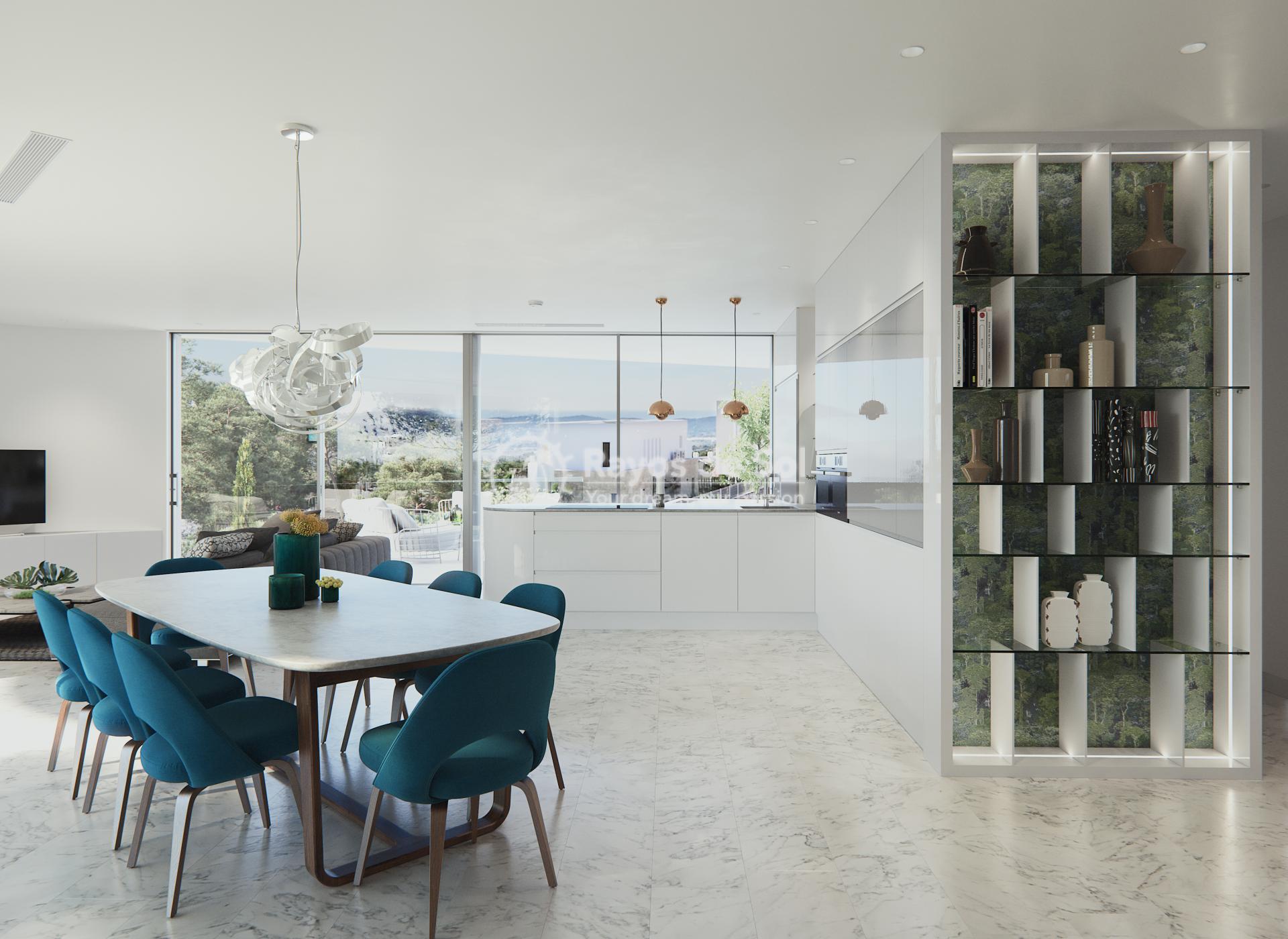 Stunning modern design villa  in Sierra Cortina, Finestrat, Costa Blanca (Praga 19) - 2