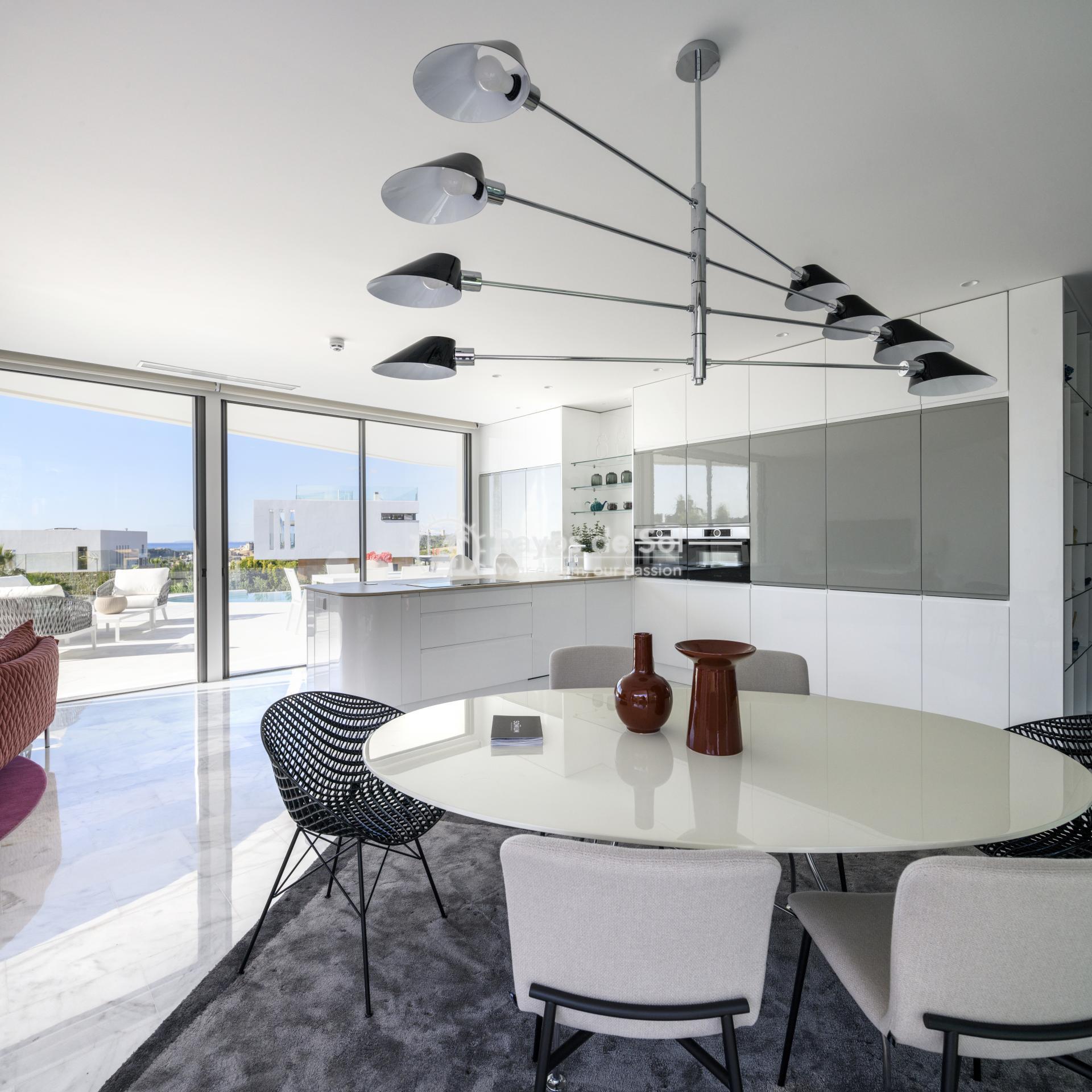 Stunning modern design villa  in Sierra Cortina, Finestrat, Costa Blanca (Praga 19) - 9