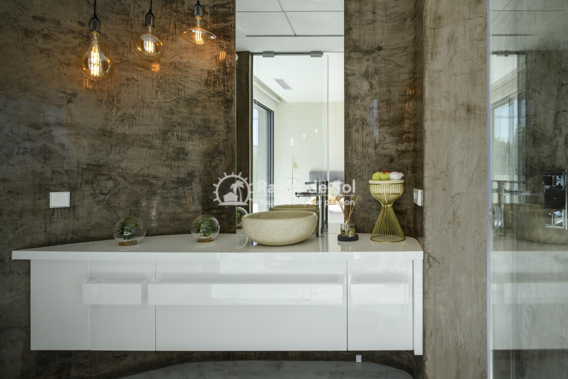 Stunning modern design villa  in Sierra Cortina, Finestrat, Costa Blanca (Praga 19) - 28