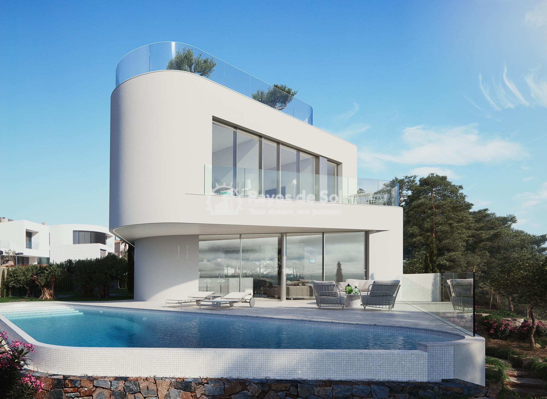 Stunning modern design villa  in Sierra Cortina, Finestrat, Costa Blanca (Praga 19) - 36