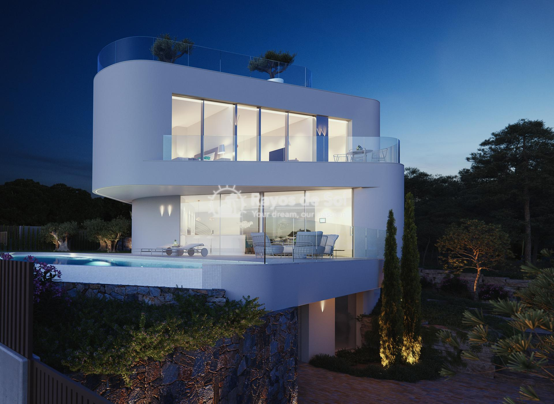 Stunning modern design villa  in Sierra Cortina, Finestrat, Costa Blanca (Praga 19) - 91