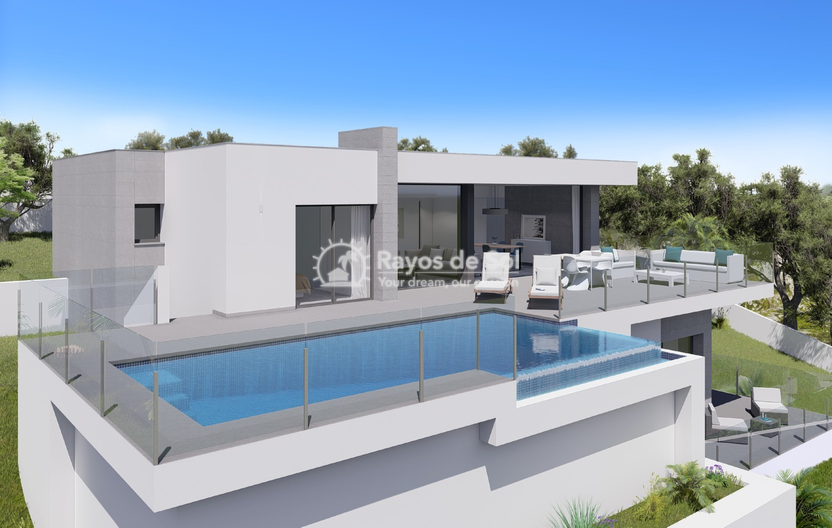 Single storey villa in Cumbre del Sol, Benitachell, Costa Blanca (BEVALIDCR) - 5