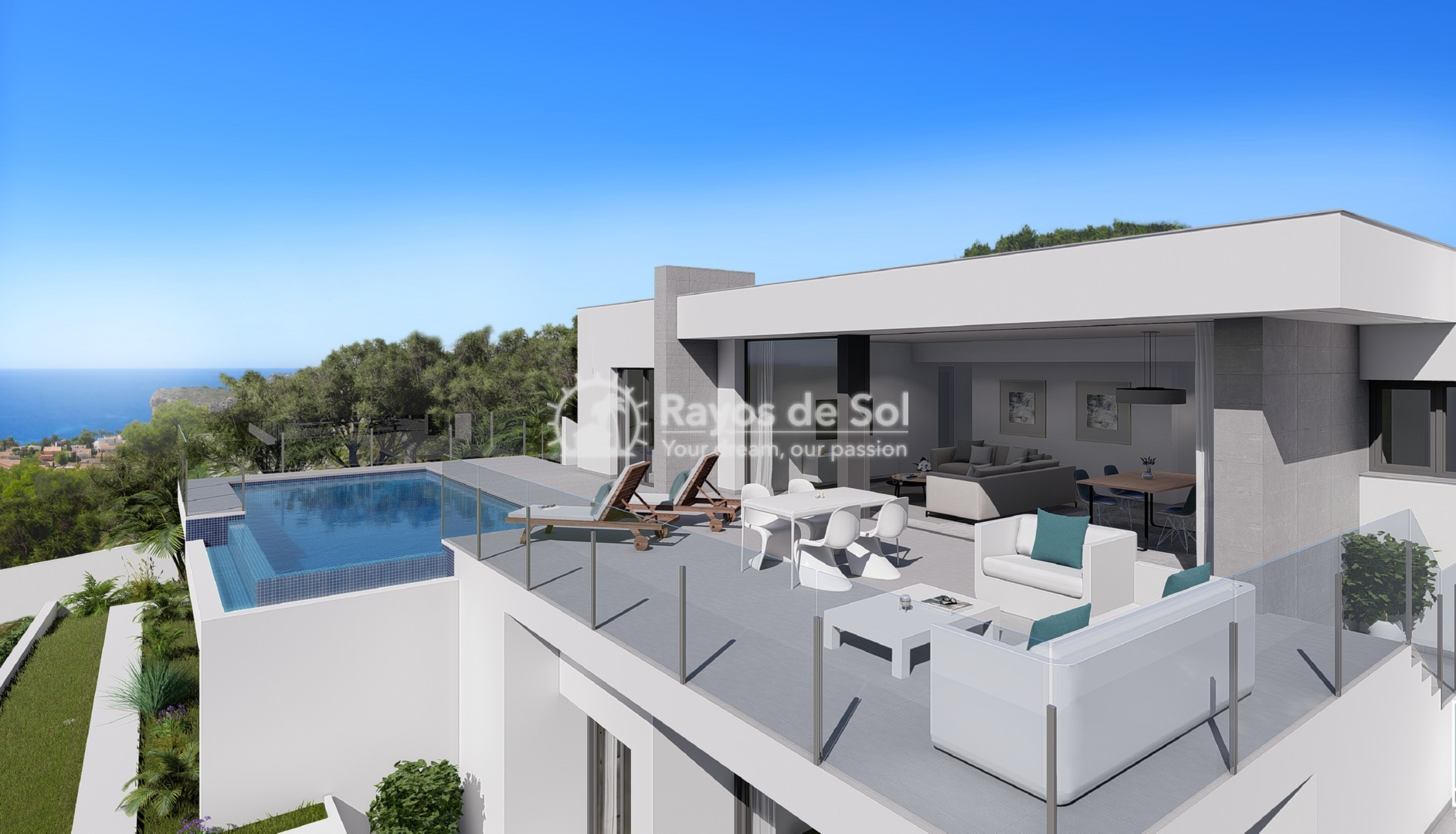 Single storey villa in Cumbre del Sol, Benitachell, Costa Blanca (BEVALIDCR) - 1