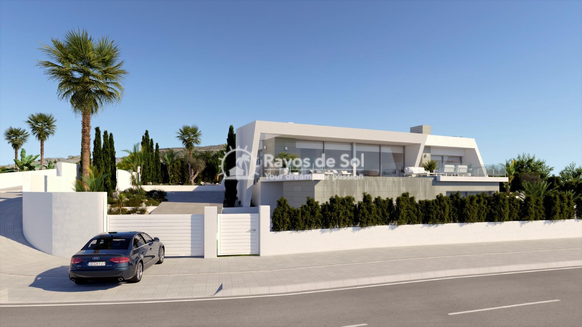 Villa with stunning views in Cumbre del Sol, Benitachell, Costa Blanca (BEVALIDIT) - 1