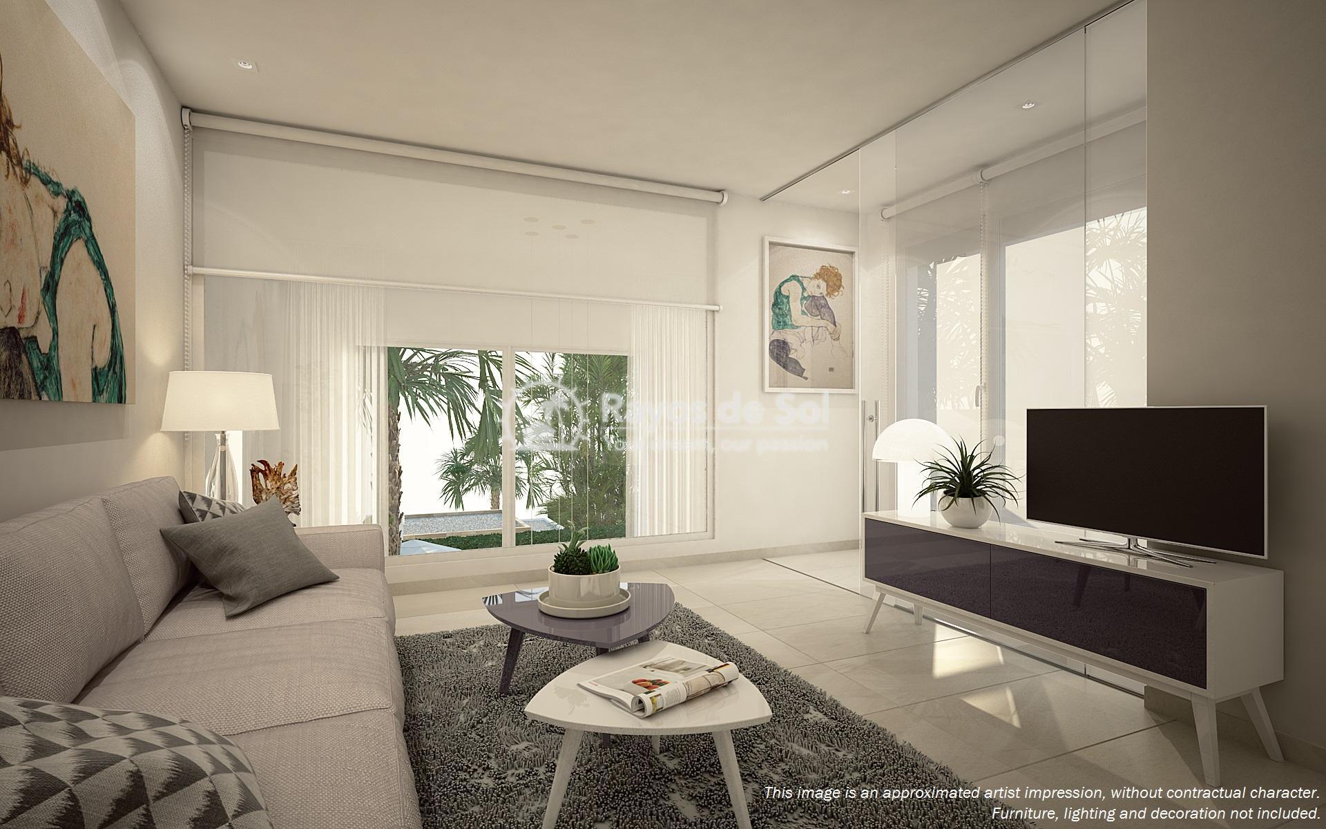 Semi-detached villa in La Finca golf, Algorfa, Costa Blanca (LFTRLFEU) - 3