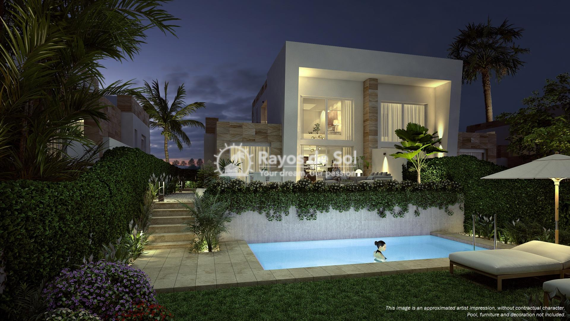 Semi-detached villa in La Finca golf, Algorfa, Costa Blanca (LFTRLFEU) - 10