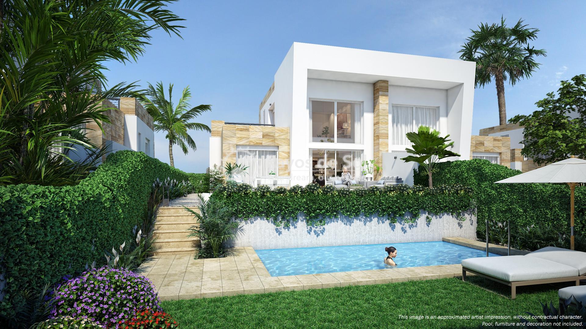 Semi-detached villa in La Finca golf, Algorfa, Costa Blanca (LFTRLFEU) - 1