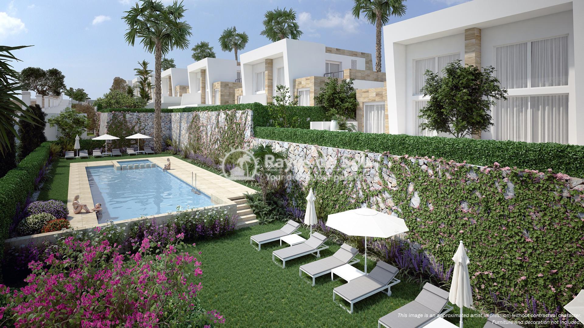 Semi-detached villa in La Finca golf, Algorfa, Costa Blanca (LFTRLFEU) - 9