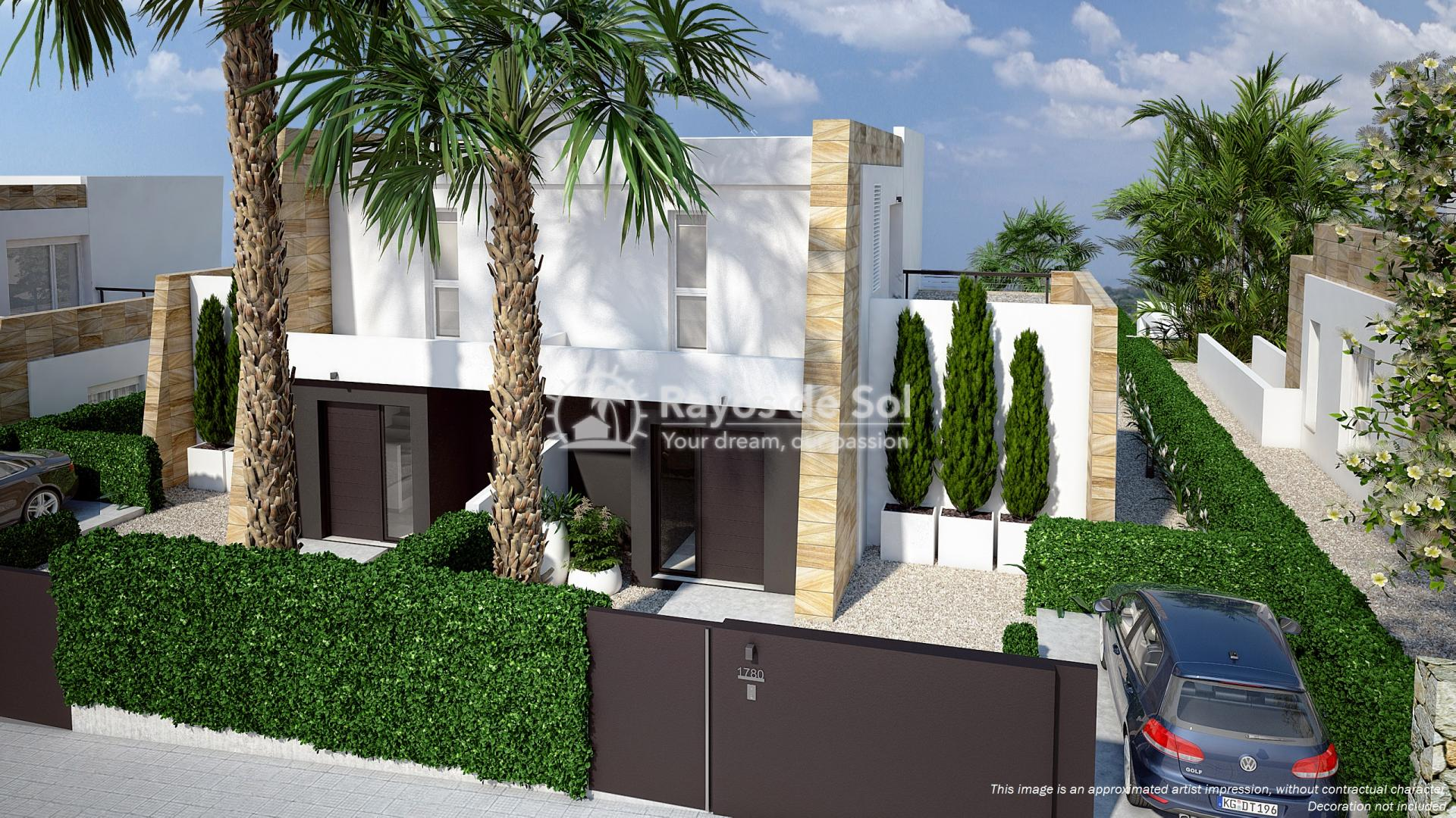 Semi-detached villa in La Finca golf, Algorfa, Costa Blanca (LFTRLFEU) - 8