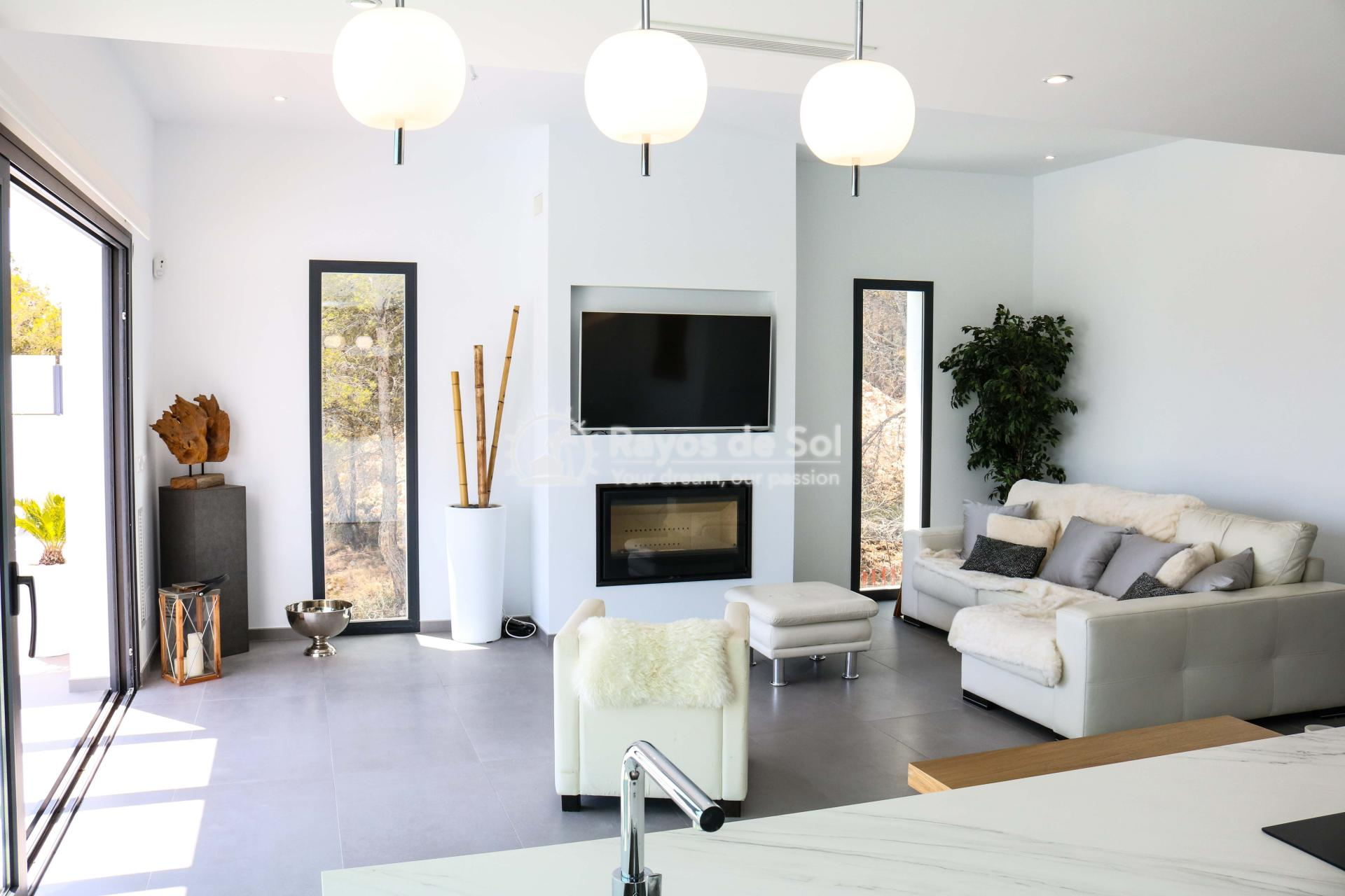 Villa with stunning views  in Polop, Costa Blanca (POLAVE2D) - 2