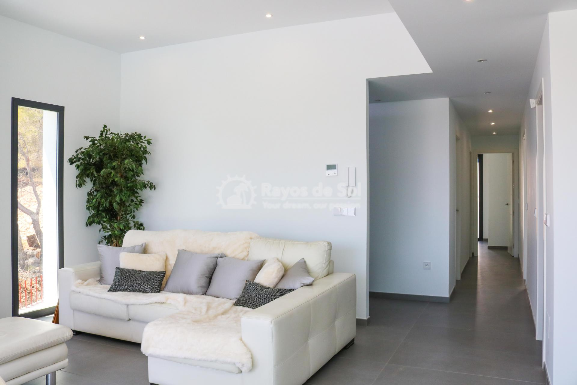 Villa with stunning views  in Polop, Costa Blanca (POLAVE2D) - 3