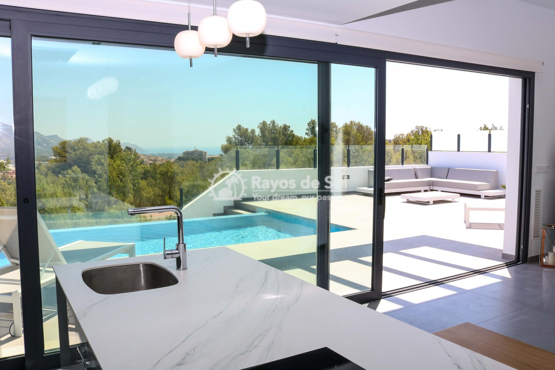 Villa with stunning views  in Polop, Costa Blanca (POLAVE2D) - 11