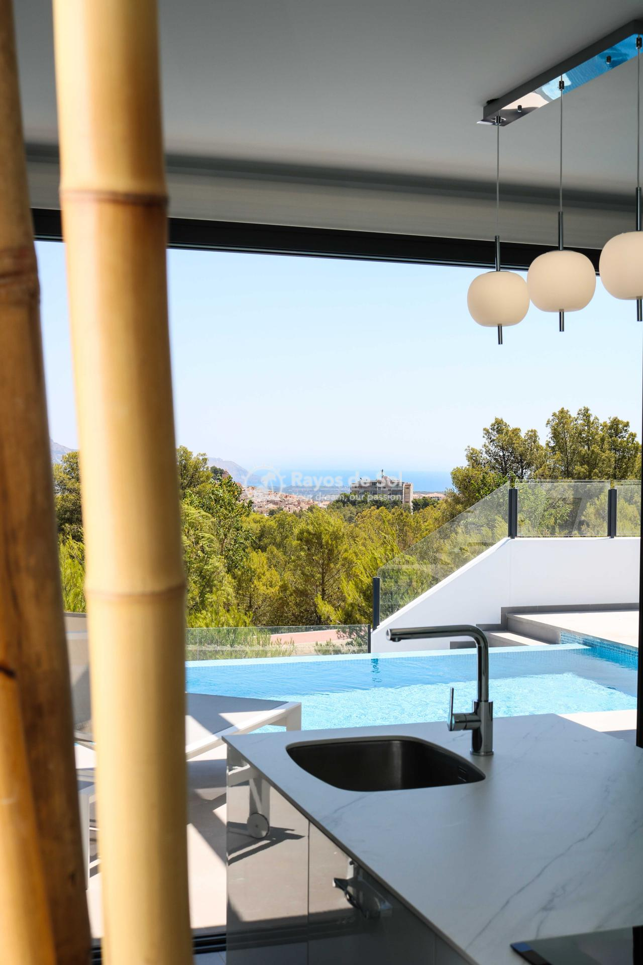 Villa with stunning views  in Polop, Costa Blanca (POLAVE2D) - 10