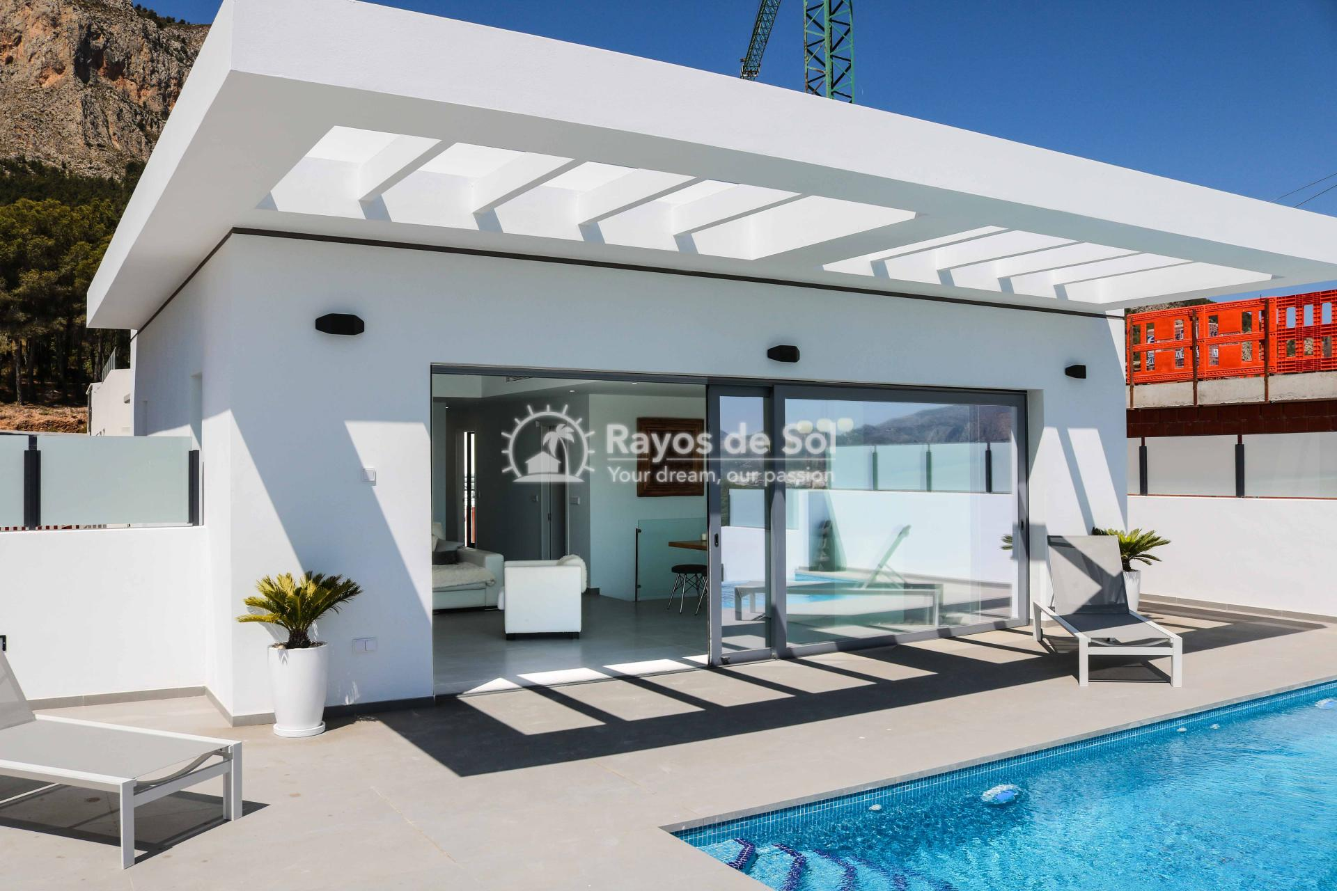 Villa with stunning views  in Polop, Costa Blanca (POLAVE2D) - 12