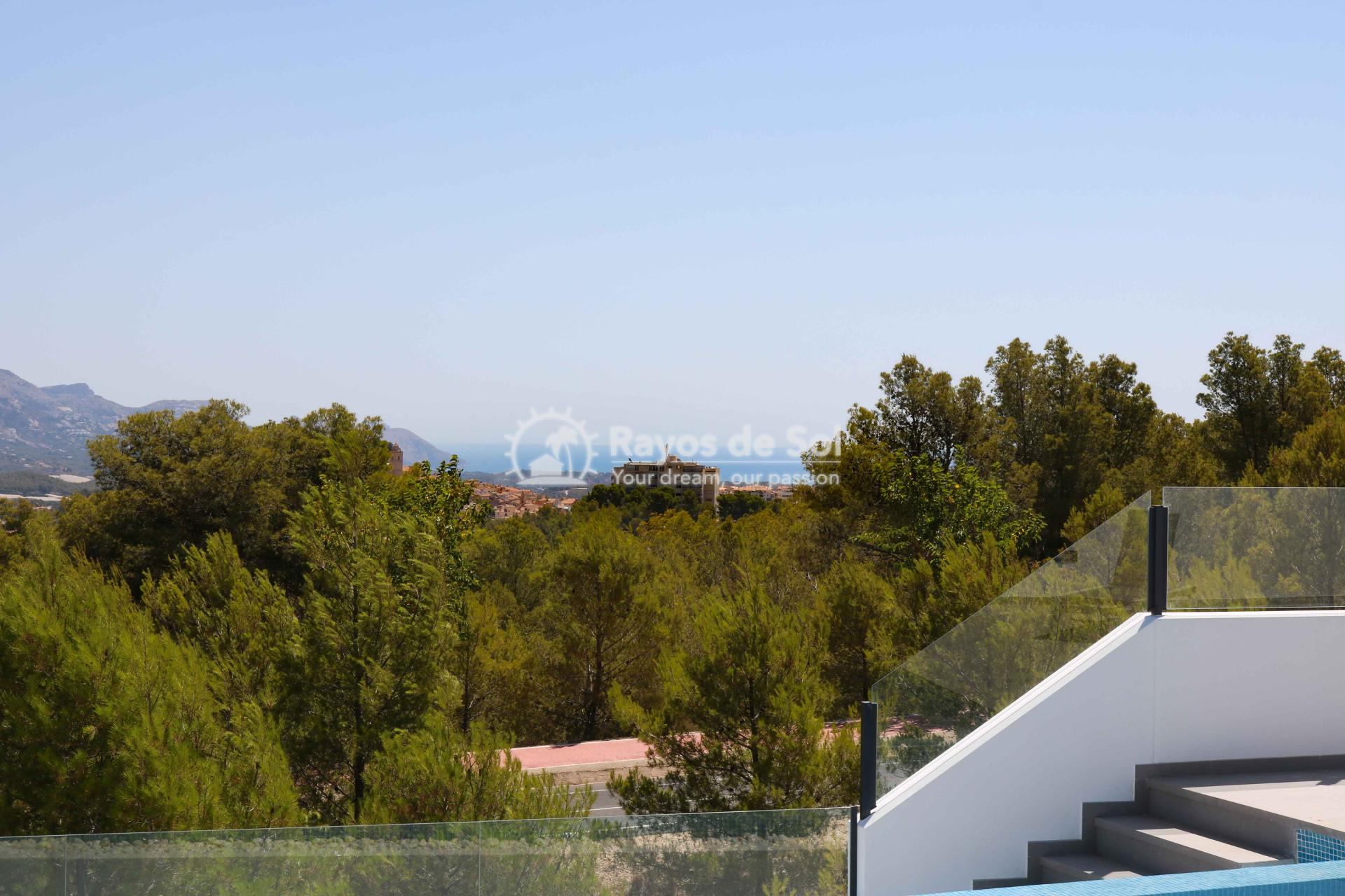 Villa with stunning views  in Polop, Costa Blanca (POLAVE2D) - 24