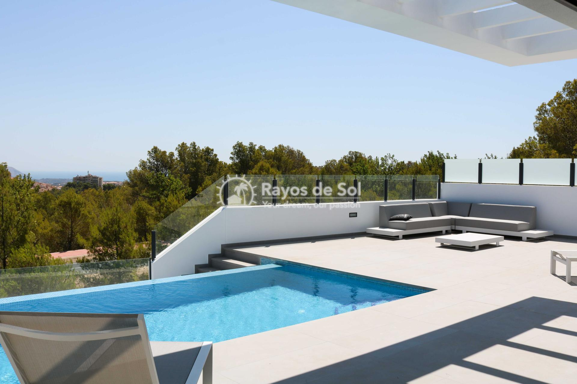 Villa with stunning views  in Polop, Costa Blanca (POLAVE2D) - 17