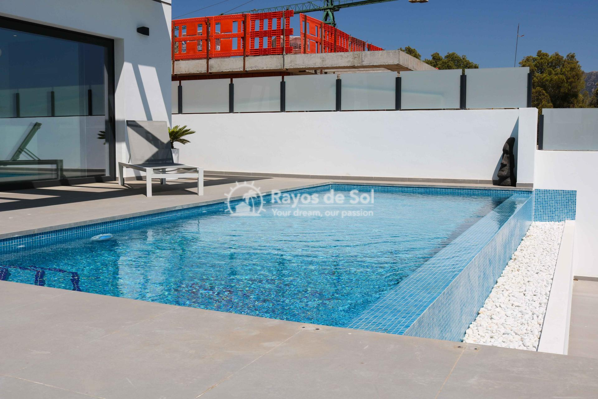 Villa with stunning views  in Polop, Costa Blanca (POLAVE2D) - 15