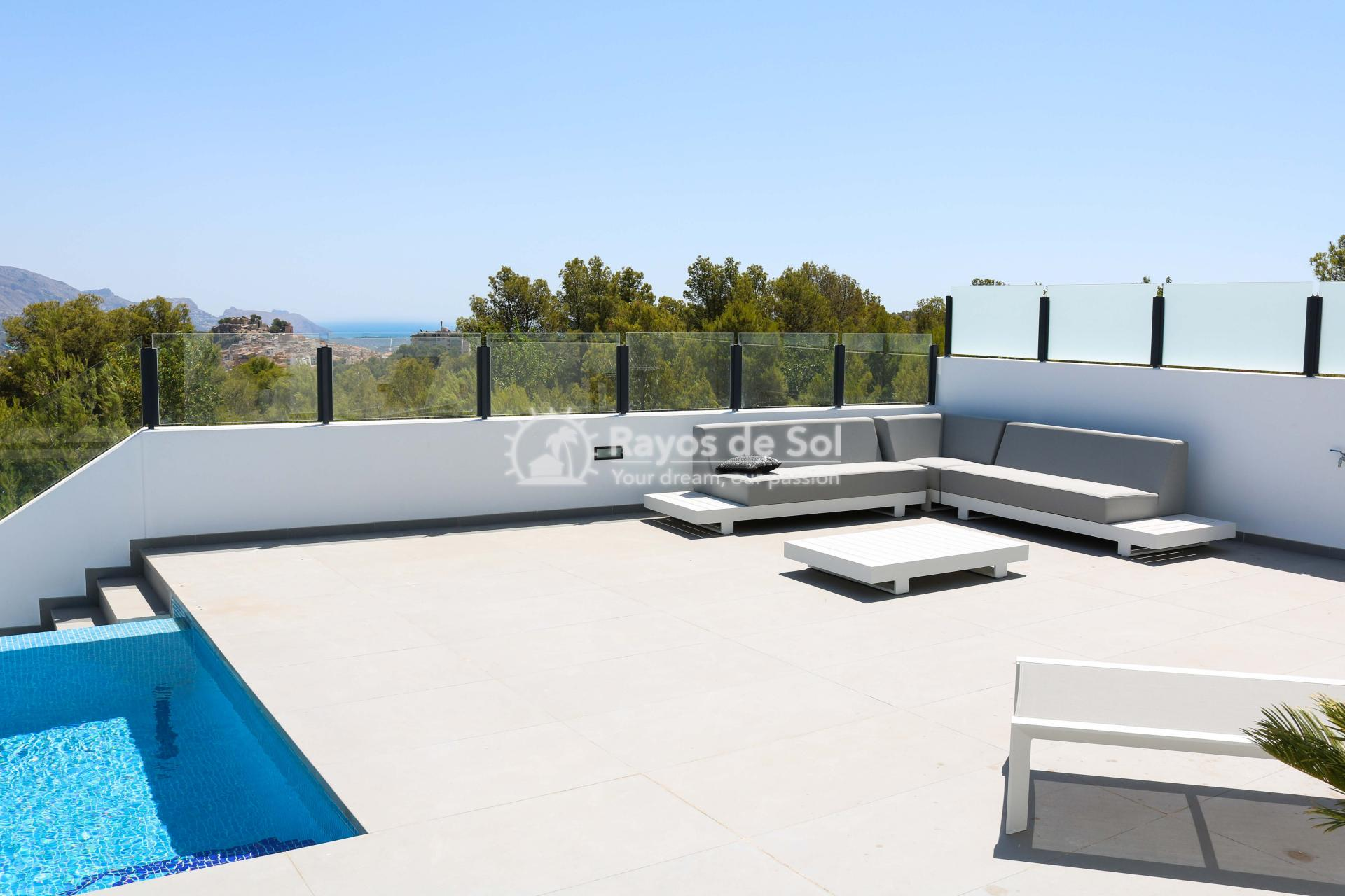 Villa with stunning views  in Polop, Costa Blanca (POLAVE2D) - 18