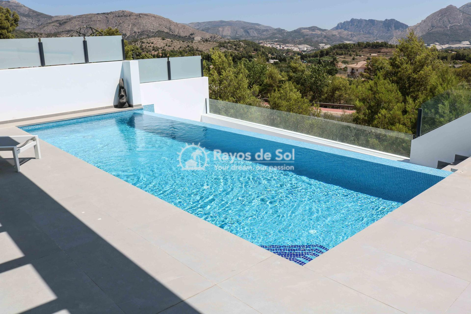 Villa with stunning views  in Polop, Costa Blanca (POLAVE2D) - 13
