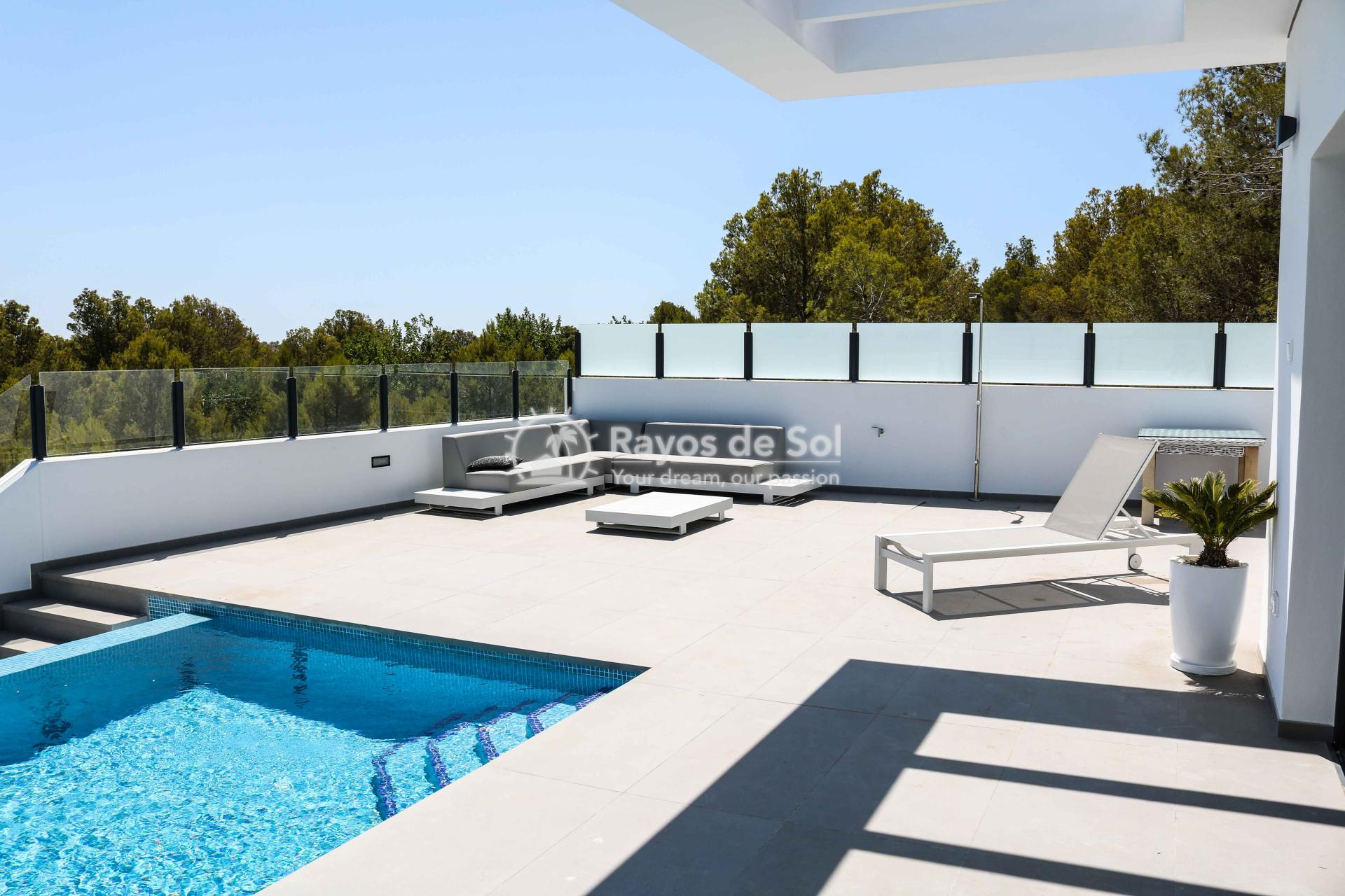 Villa with stunning views  in Polop, Costa Blanca (POLAVE2D) - 14