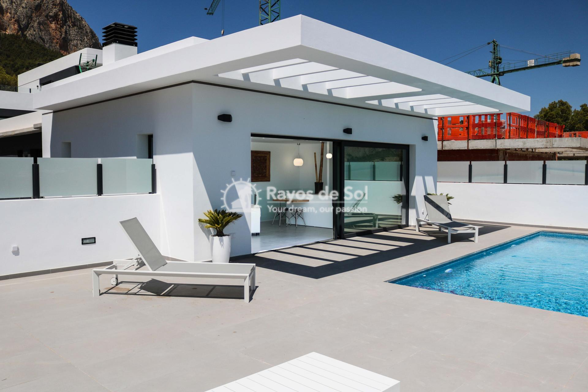 Villa with stunning views  in Polop, Costa Blanca (POLAVE2D) - 1