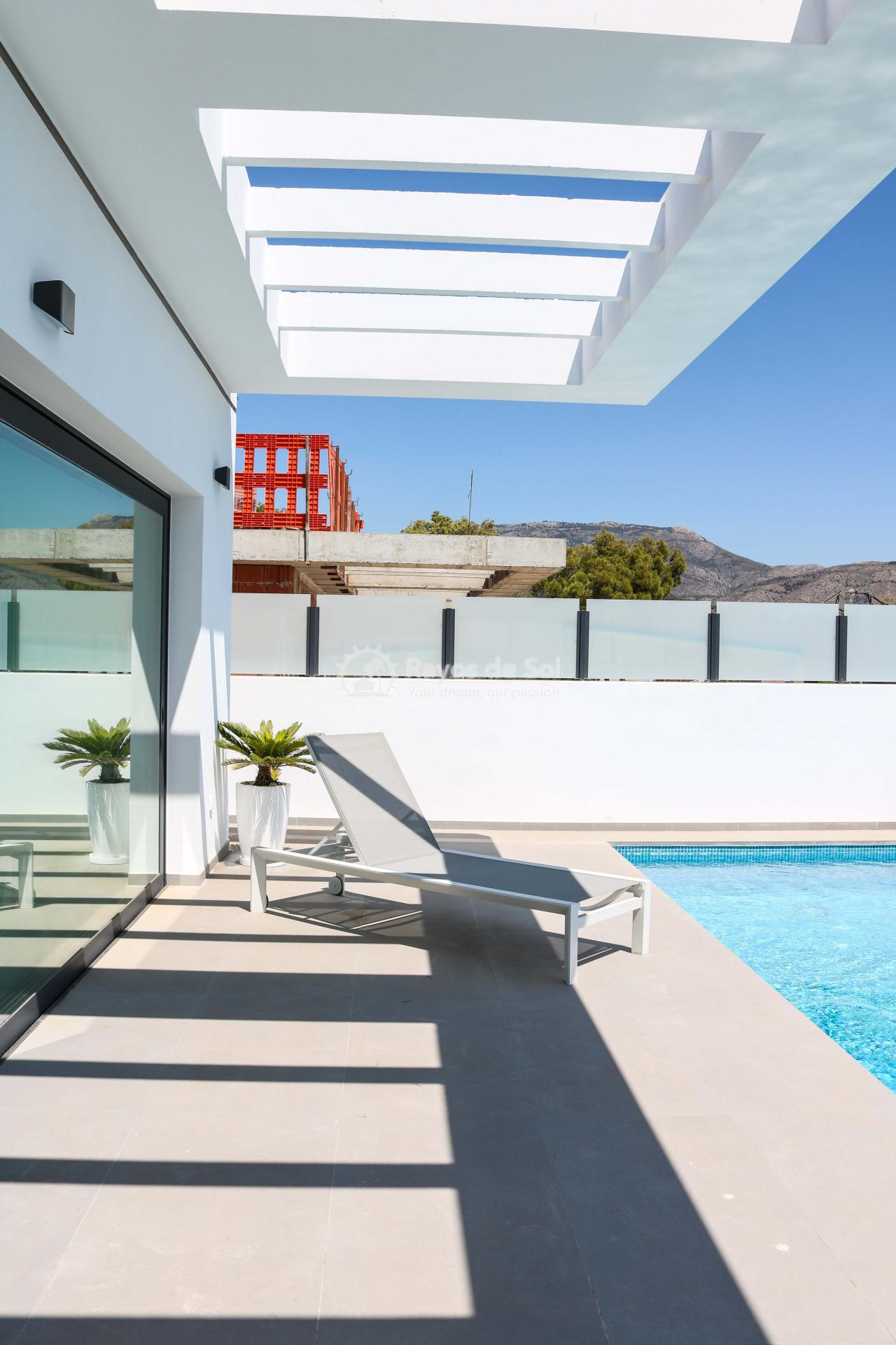 Villa with stunning views  in Polop, Costa Blanca (POLAVE2D) - 16