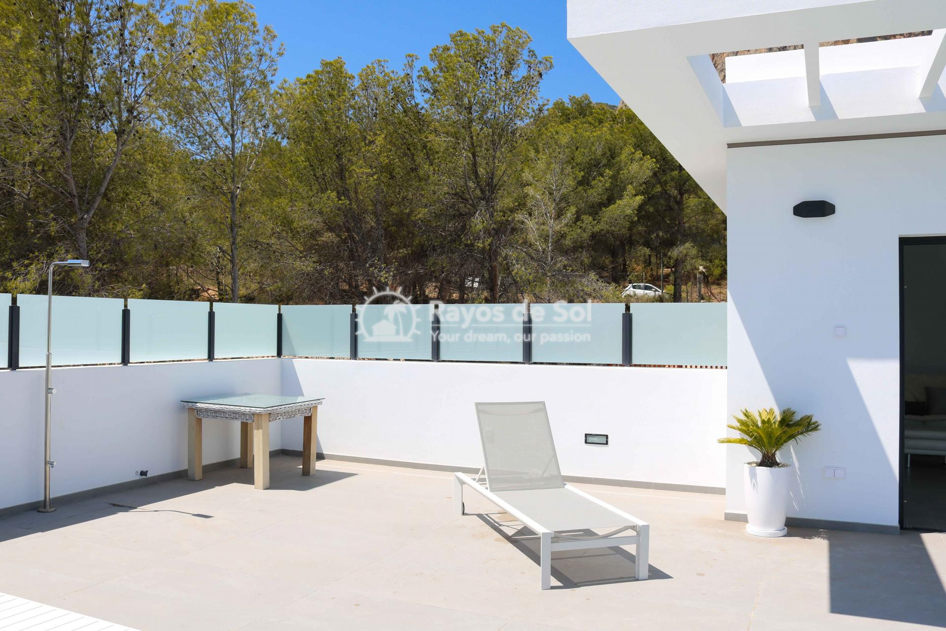 Villa with stunning views  in Polop, Costa Blanca (POLAVE2D) - 20