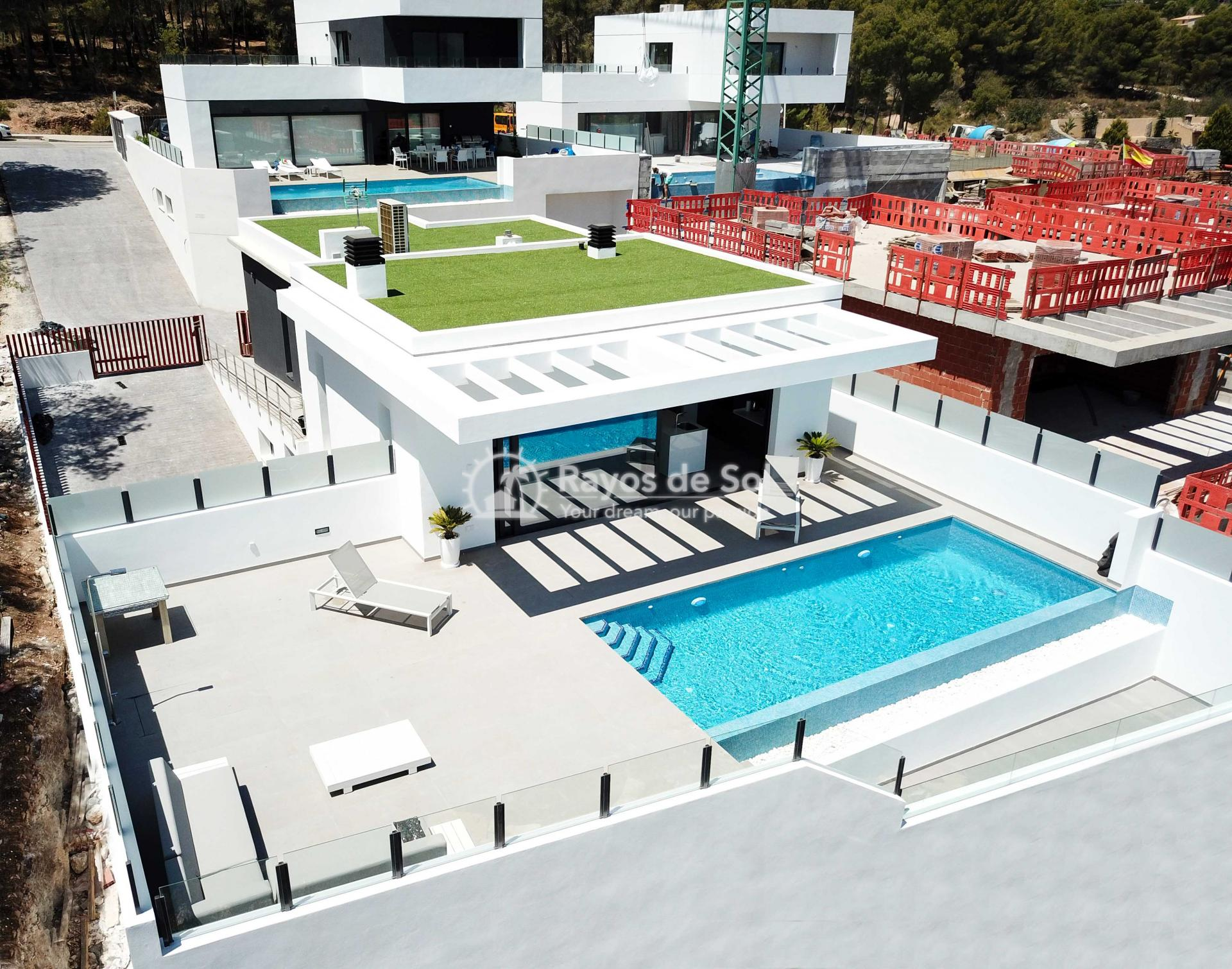 Villa with stunning views  in Polop, Costa Blanca (POLAVE2D) - 51