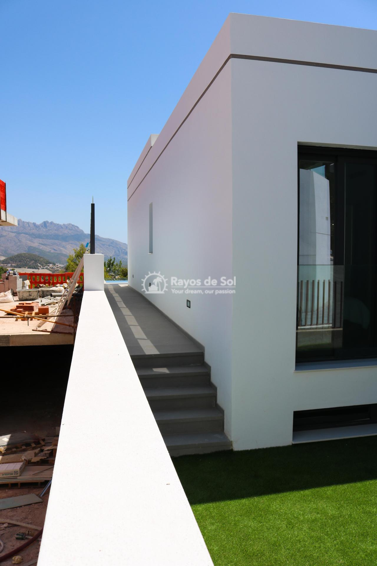 Villa with stunning views  in Polop, Costa Blanca (POLAVE2D) - 49