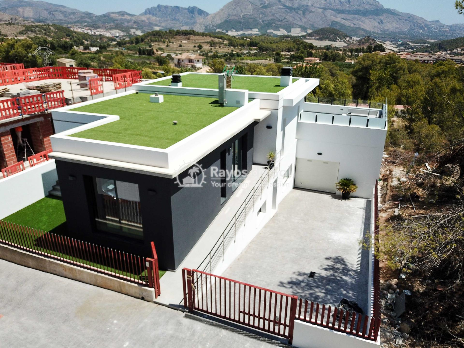 Villa with stunning views  in Polop, Costa Blanca (POLAVE2D) - 46