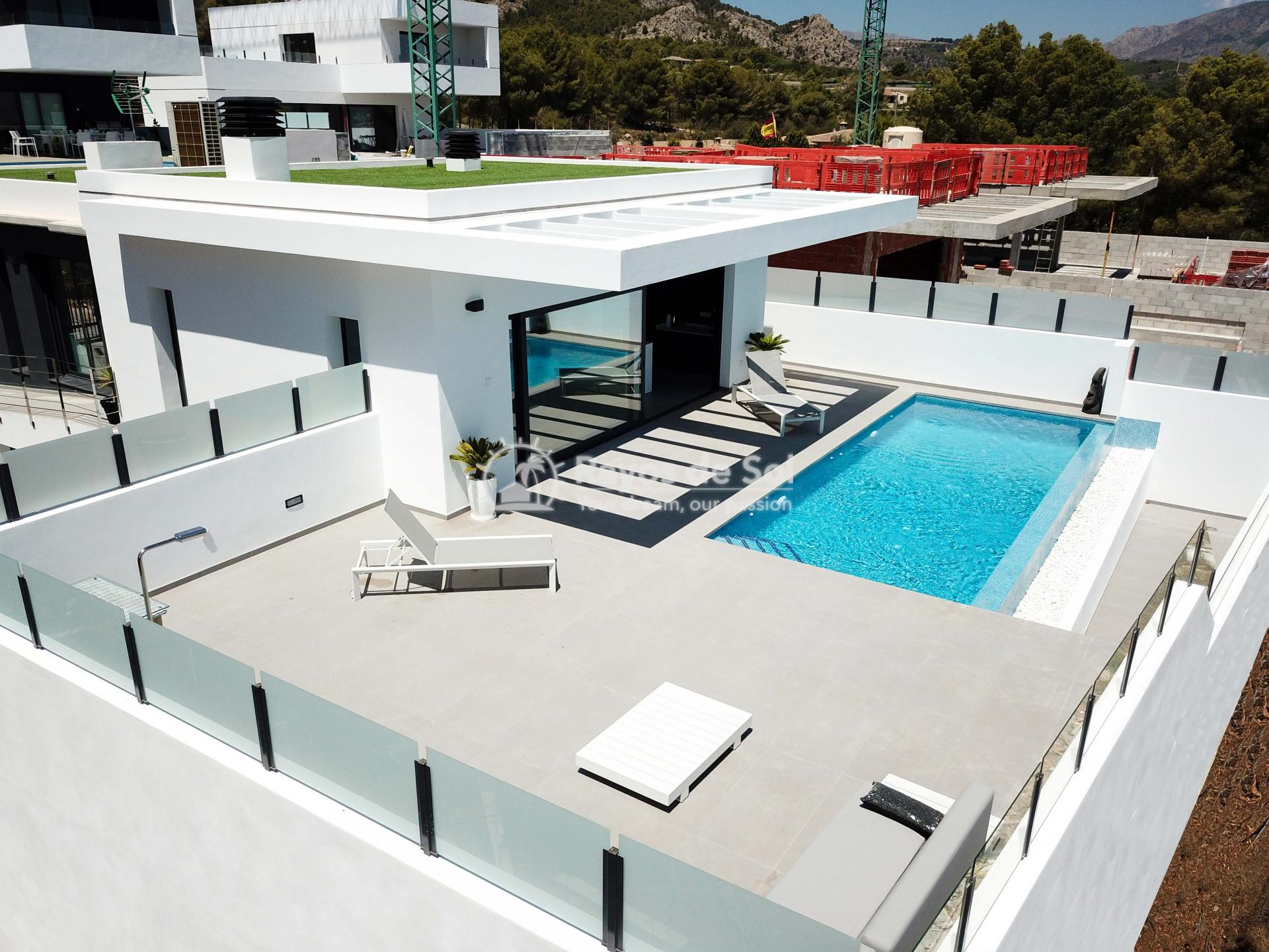 Villa with stunning views  in Polop, Costa Blanca (POLAVE2D) - 52