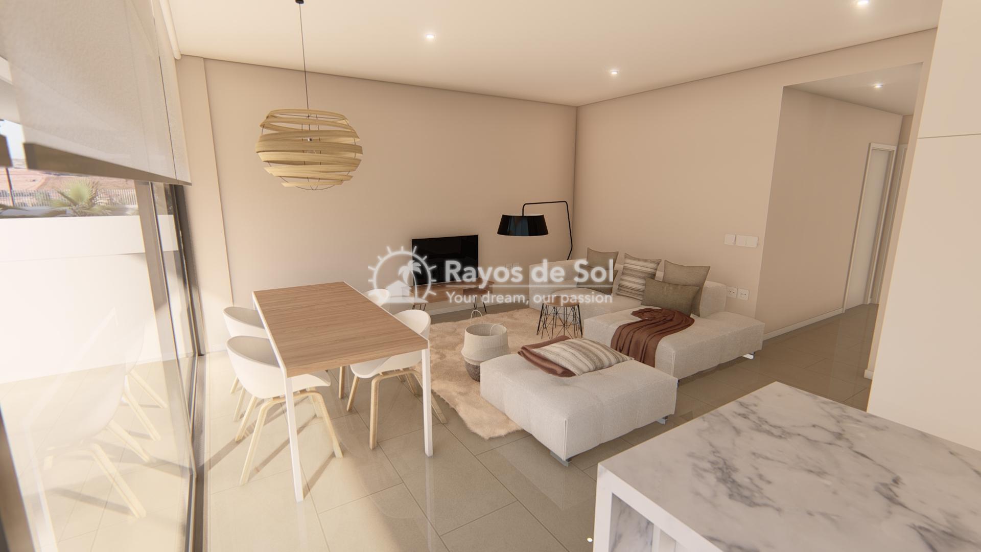 Modern ground floor apartment   in Mar de Cristal, La Manga del Mar Menor, Costa Cálida (Antilla-2d-b) - 4