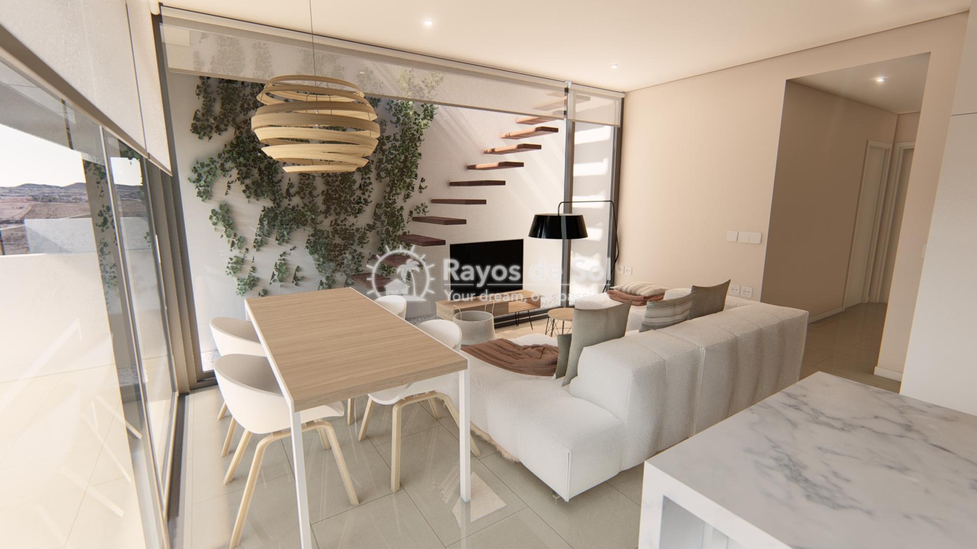 Modern ground floor apartment   in Mar de Cristal, La Manga del Mar Menor, Costa Cálida (Antilla-2d-b) - 5
