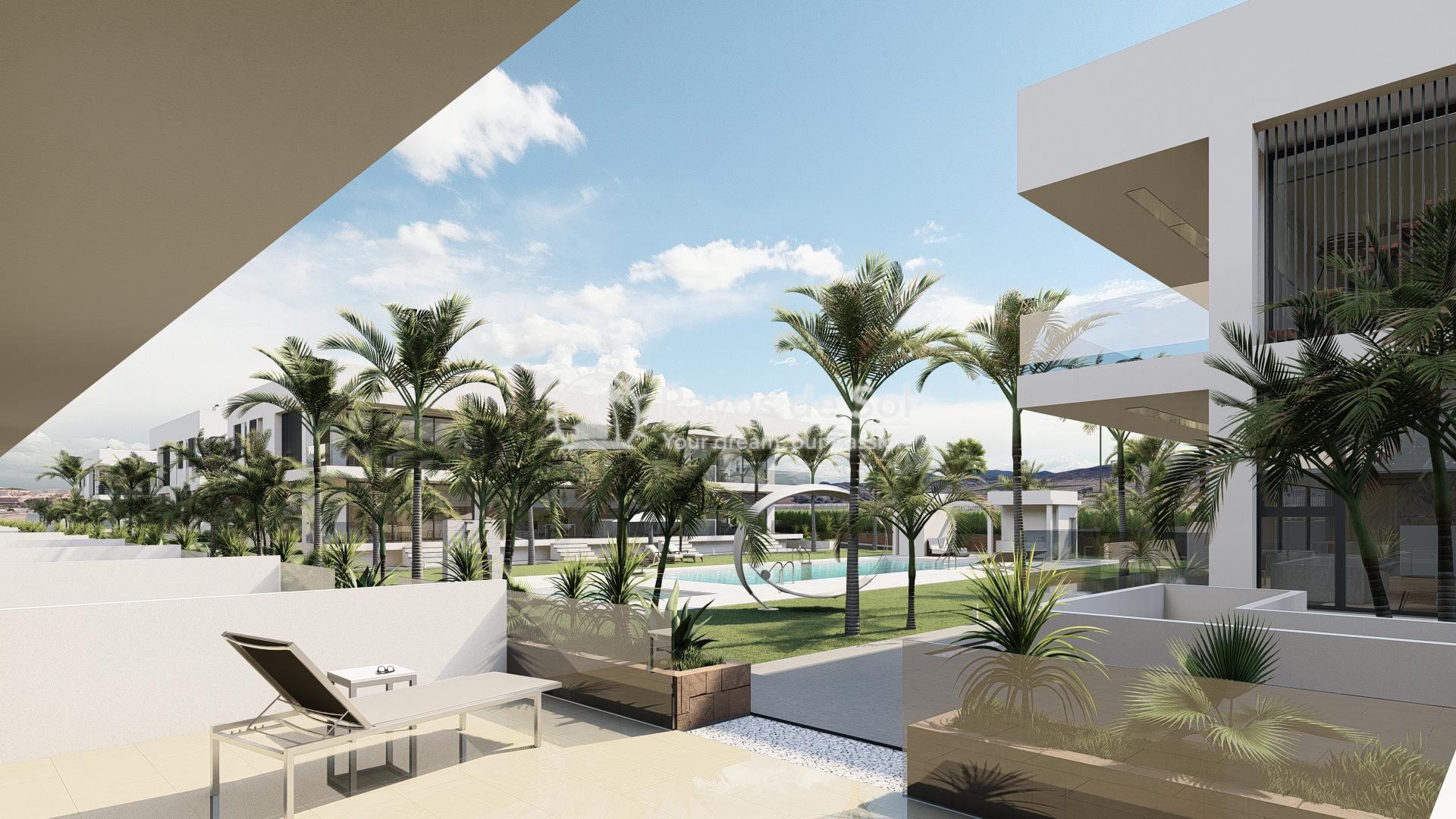 Modern ground floor apartment   in Mar de Cristal, La Manga del Mar Menor, Costa Cálida (Antilla-2d-b) - 10