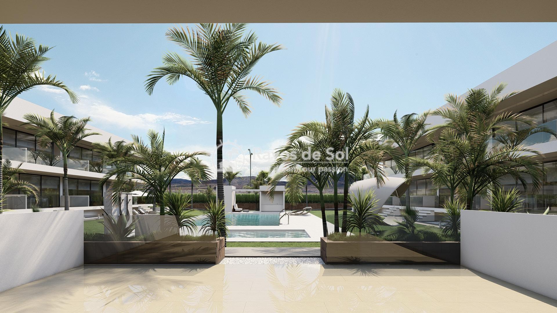 Modern ground floor apartment   in Mar de Cristal, La Manga del Mar Menor, Costa Cálida (Antilla-2d-b) - 11