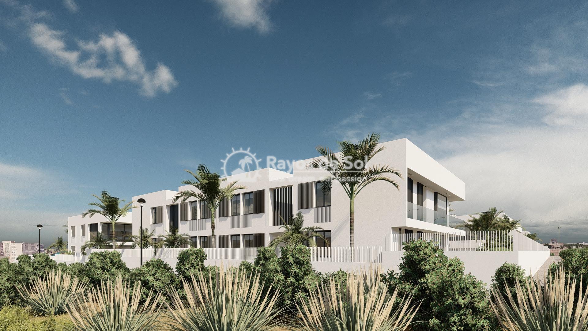 Modern ground floor apartment   in Mar de Cristal, La Manga del Mar Menor, Costa Cálida (Antilla-2d-b) - 12