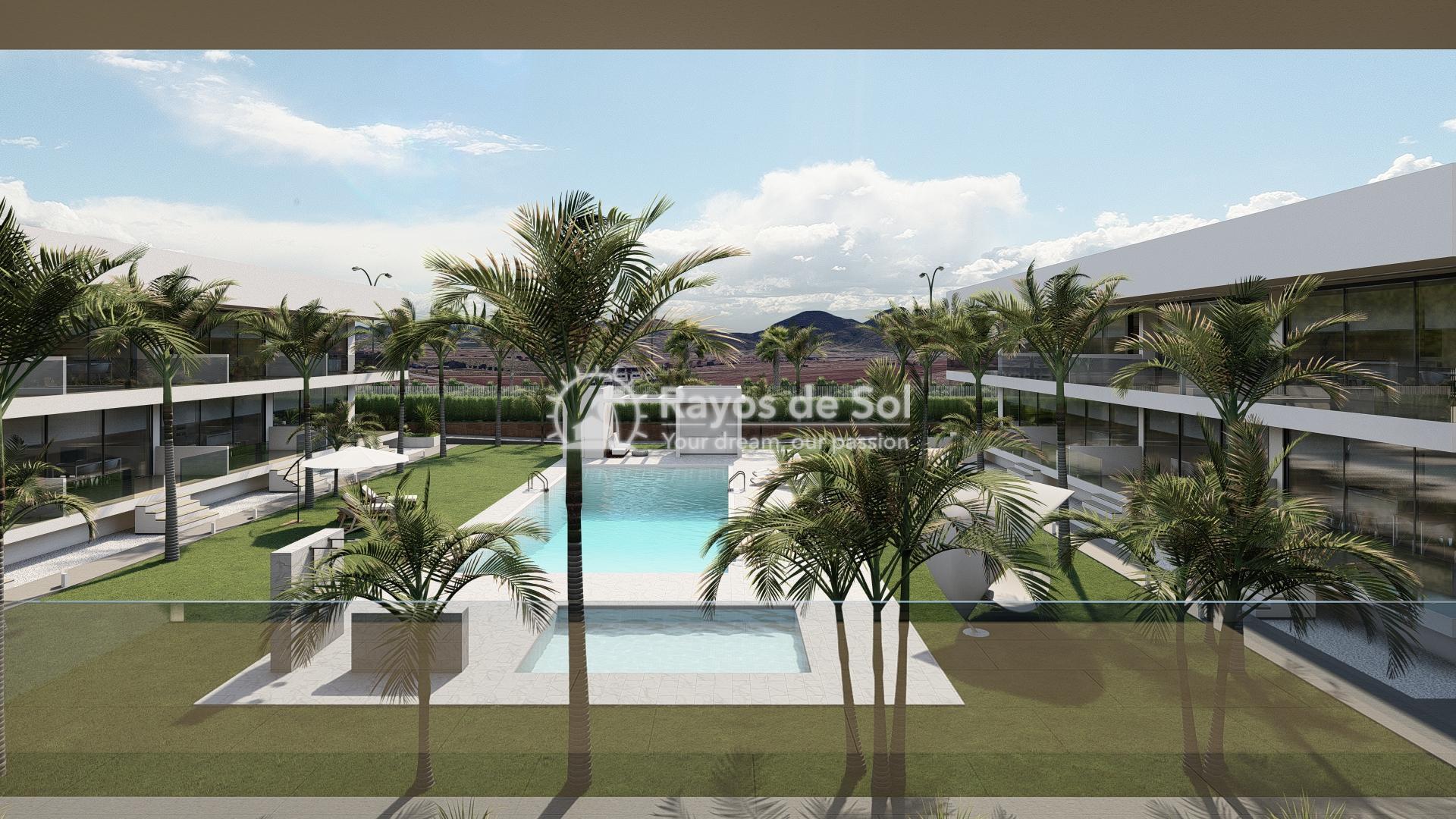 Modern ground floor apartment   in Mar de Cristal, La Manga del Mar Menor, Costa Cálida (Antilla-2d-b) - 8