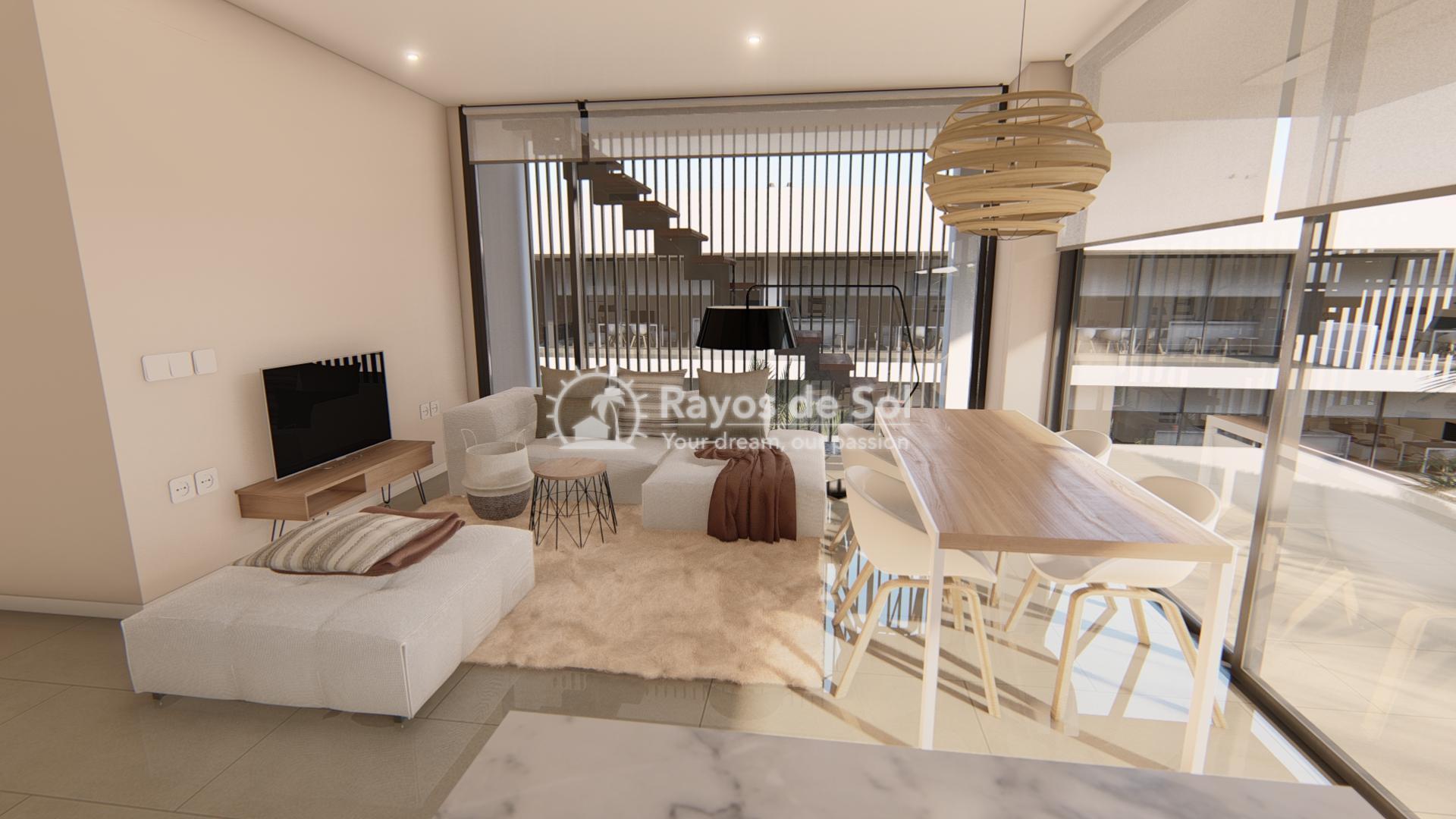 Modern ground floor apartment   in Mar de Cristal, La Manga del Mar Menor, Costa Cálida (Antilla-2d-b) - 3