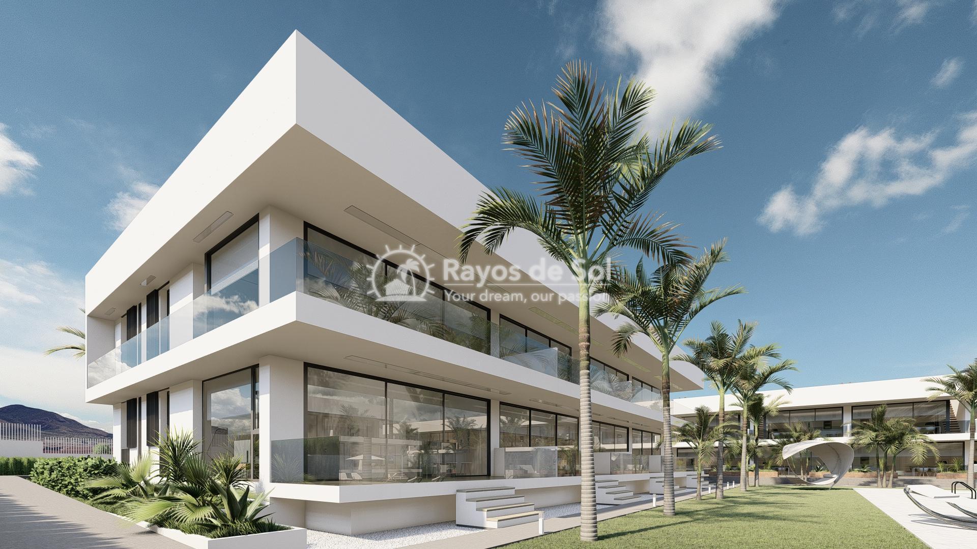 Modern ground floor apartment   in Mar de Cristal, La Manga del Mar Menor, Costa Cálida (Antilla-2d-b) - 1